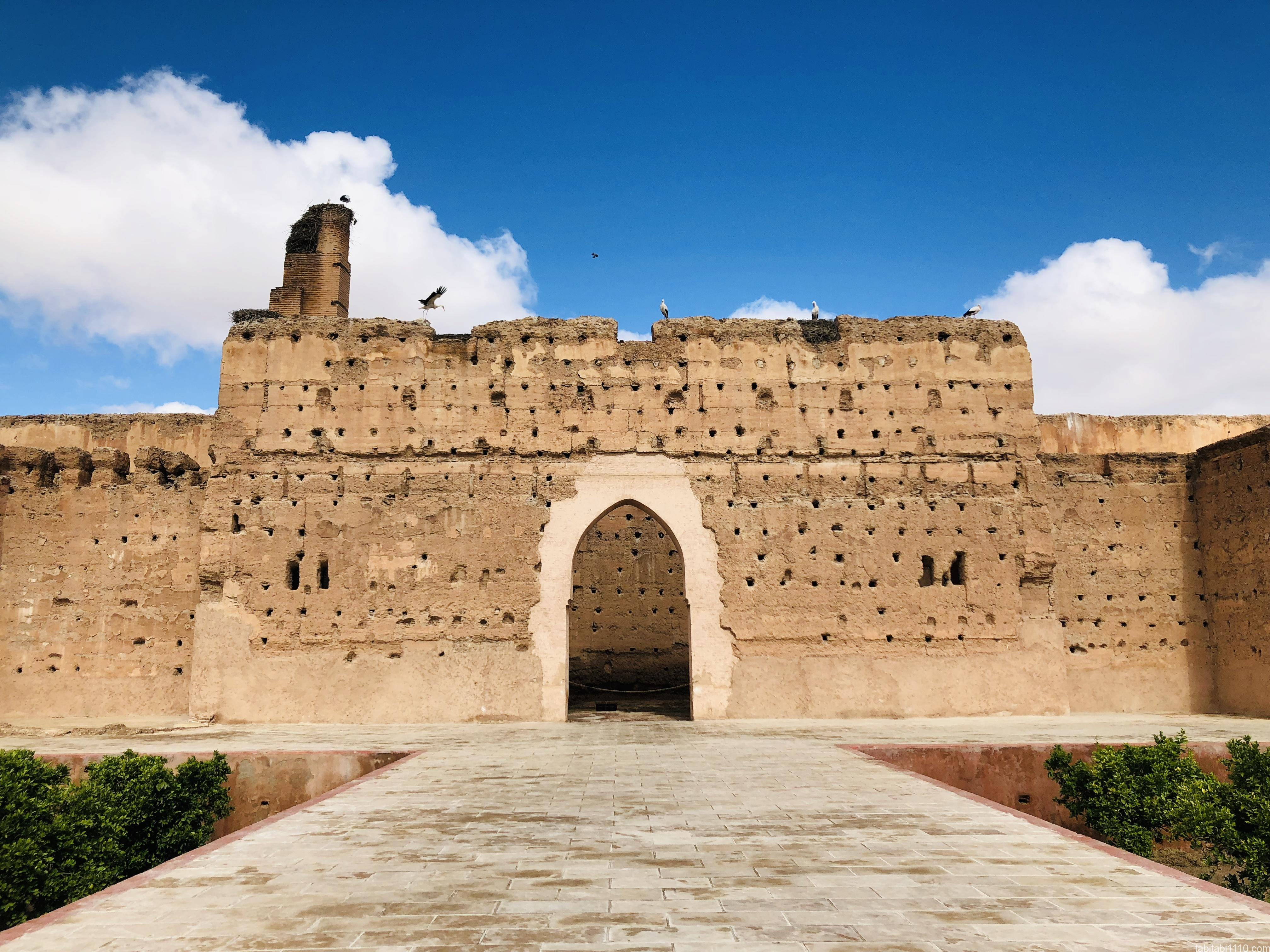 エル・バディ宮殿|門