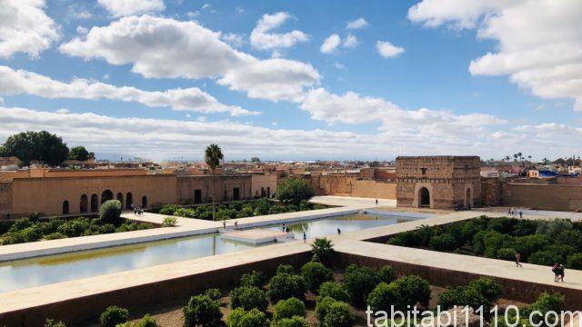 エル・バディ宮殿|庭園全景