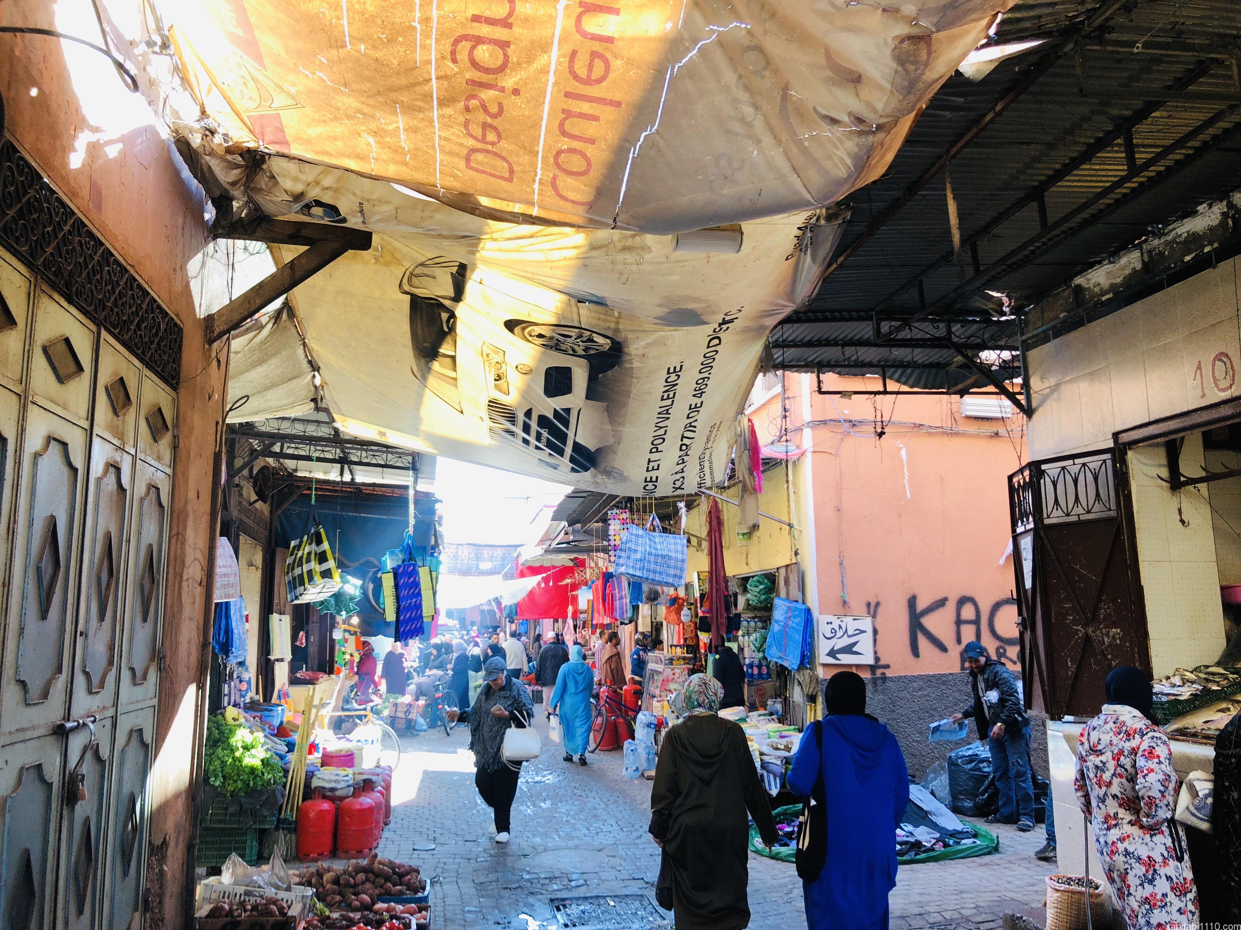 マラケシュ|旧市街のスーク