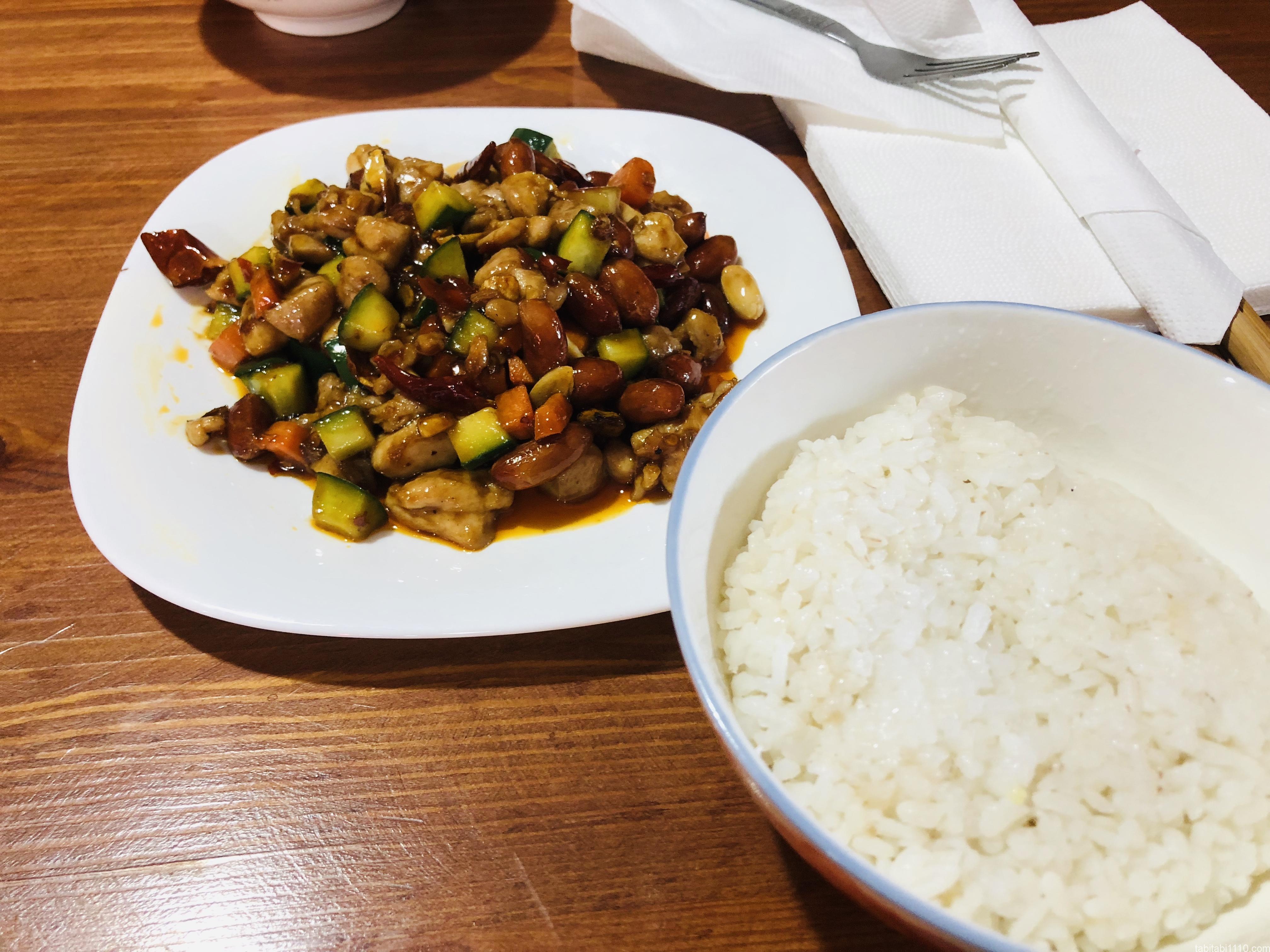 アイントベンハドゥの中華|鶏肉炒め