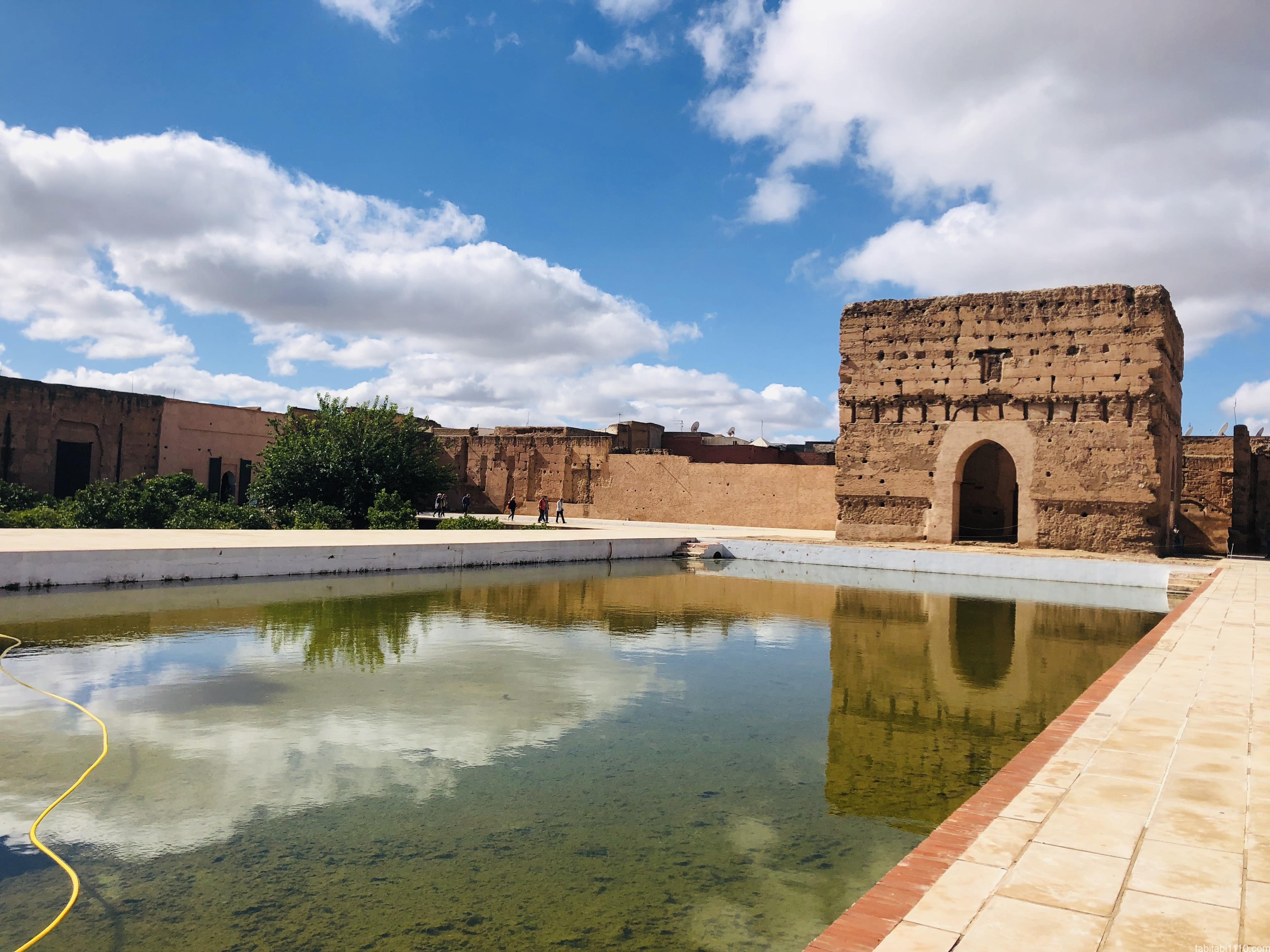 エル・バディ宮殿|庭園