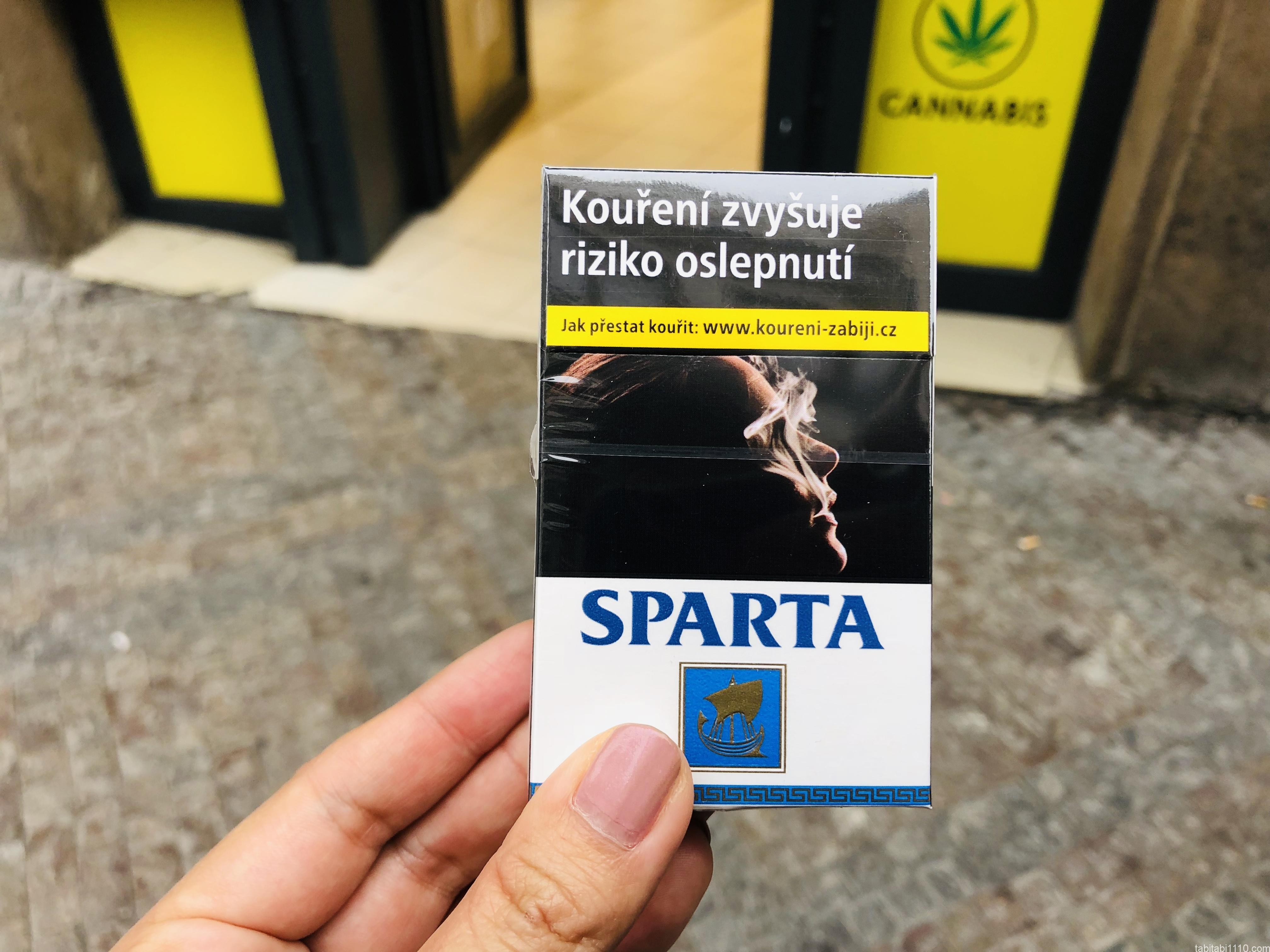 チェコのタバコ