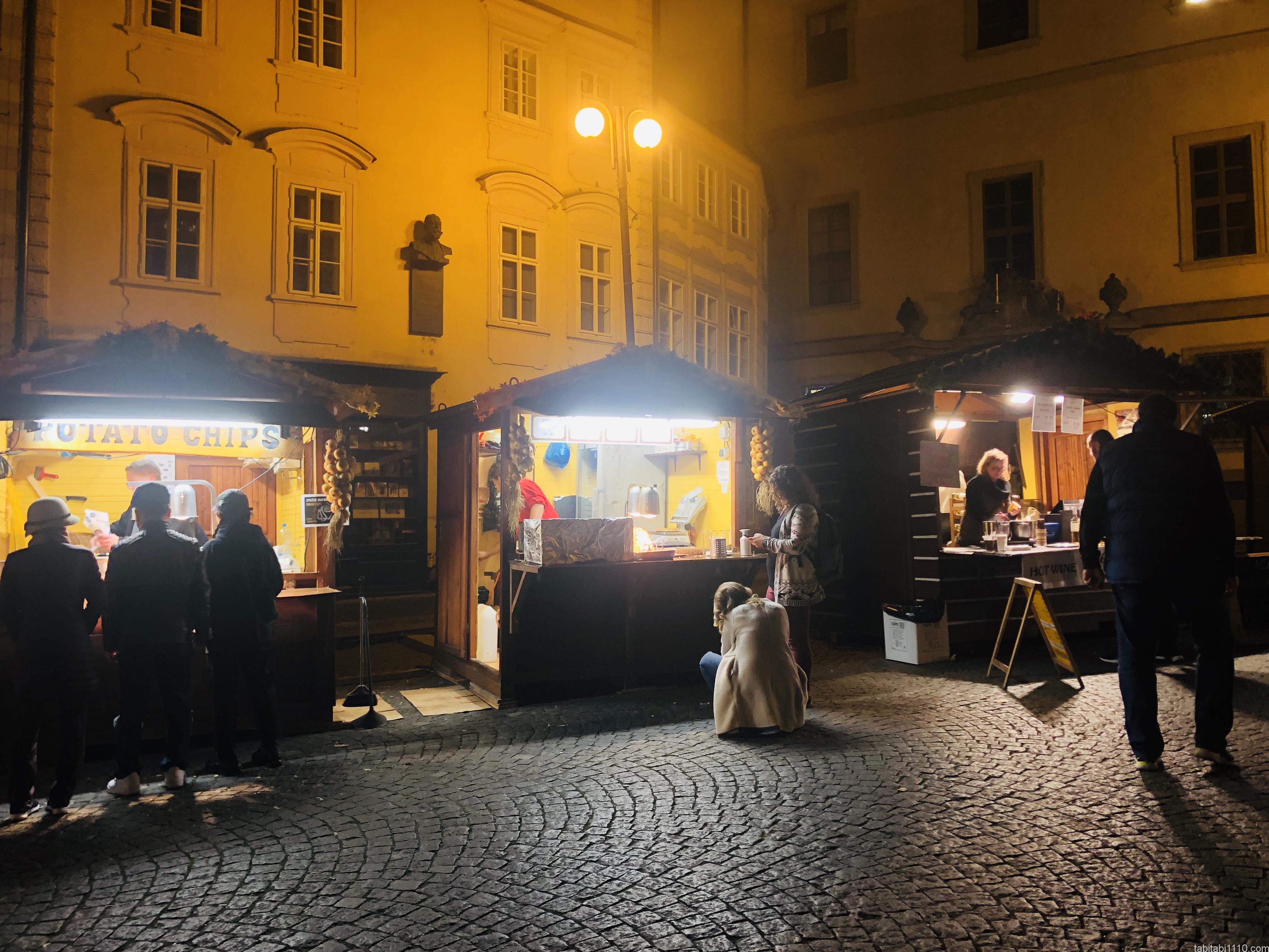 プラハ|クリスマスマーケット