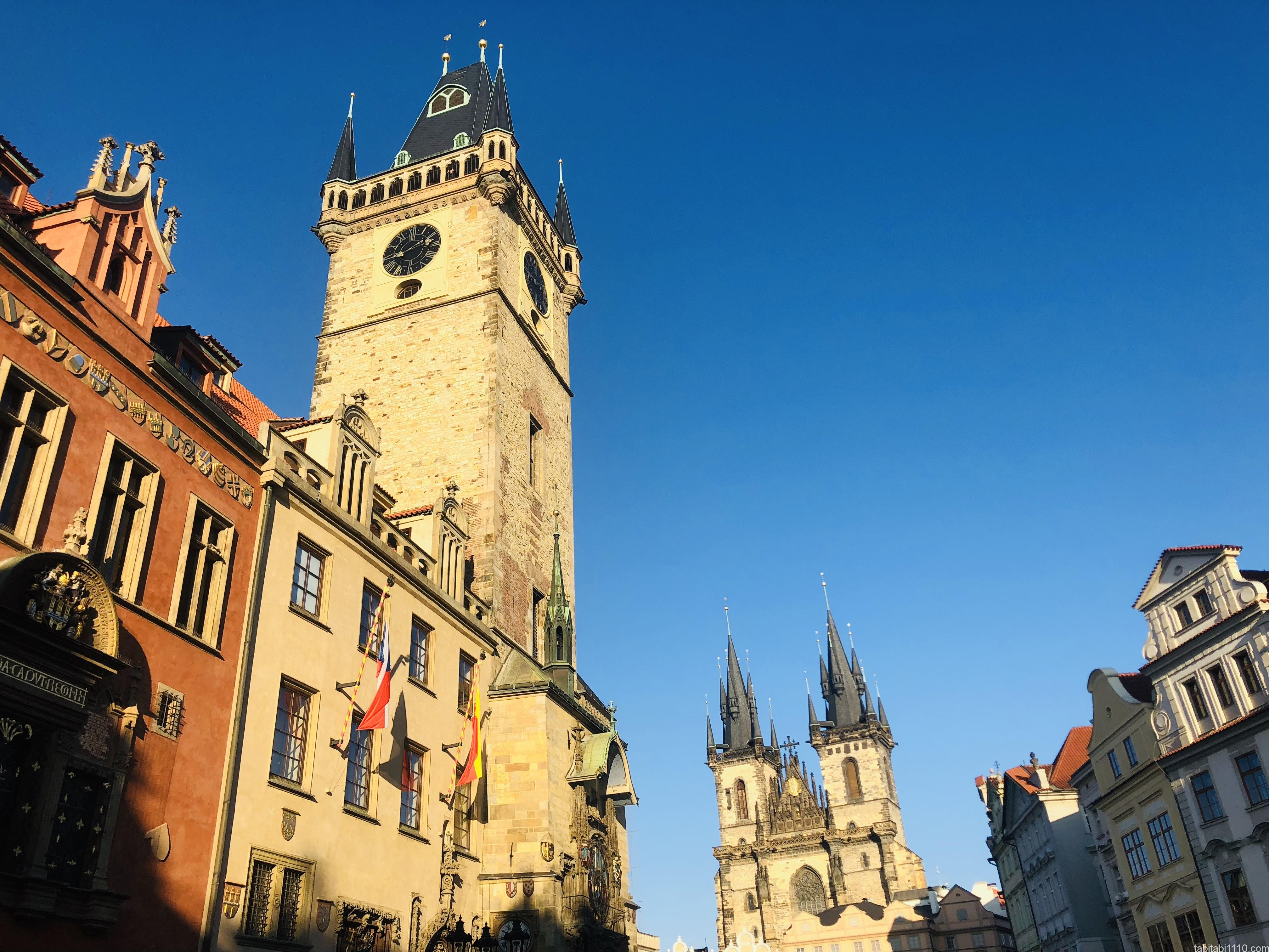 プラハ|旧市街広場