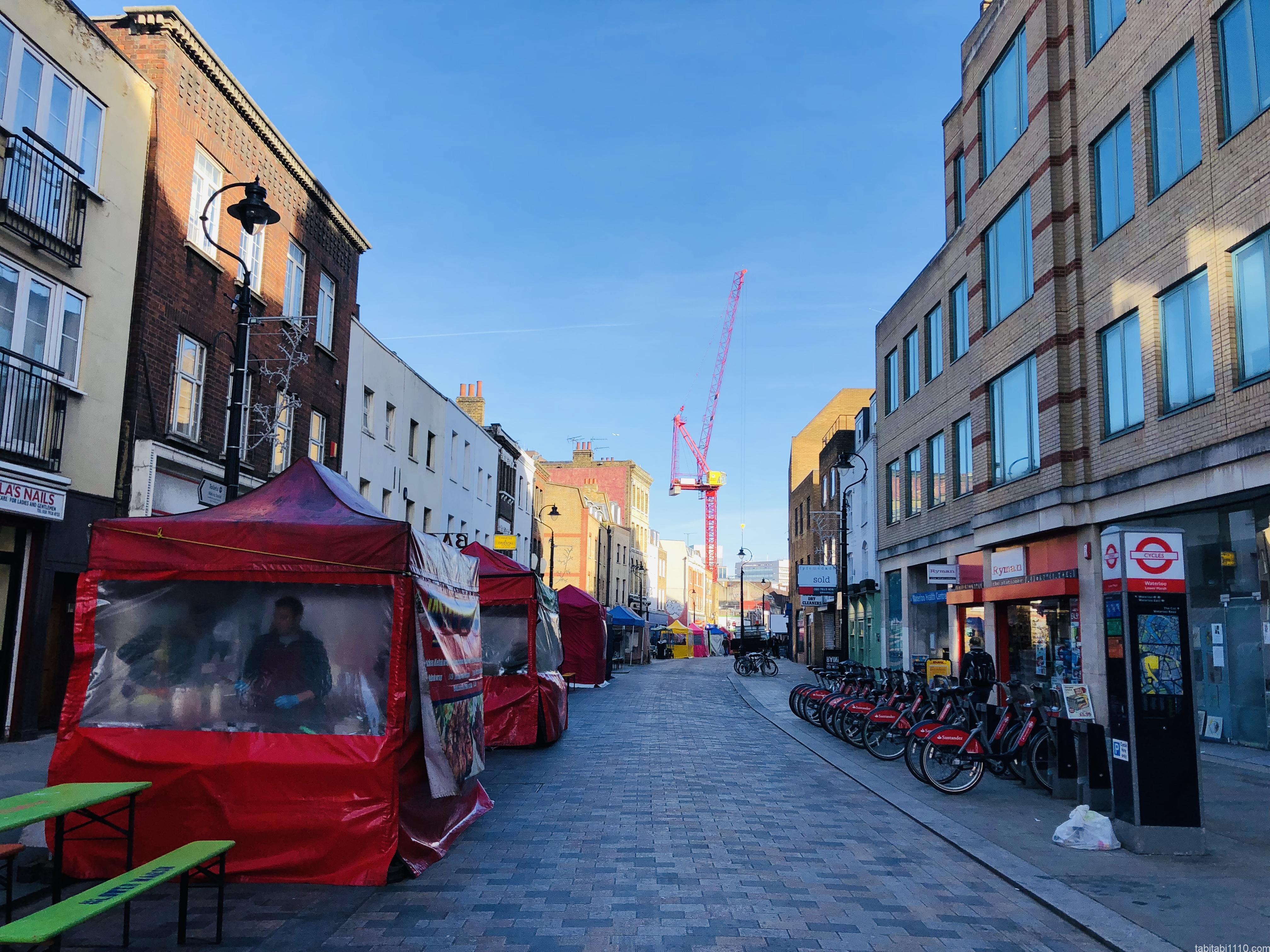 ロンドン|Lower Marsh Market