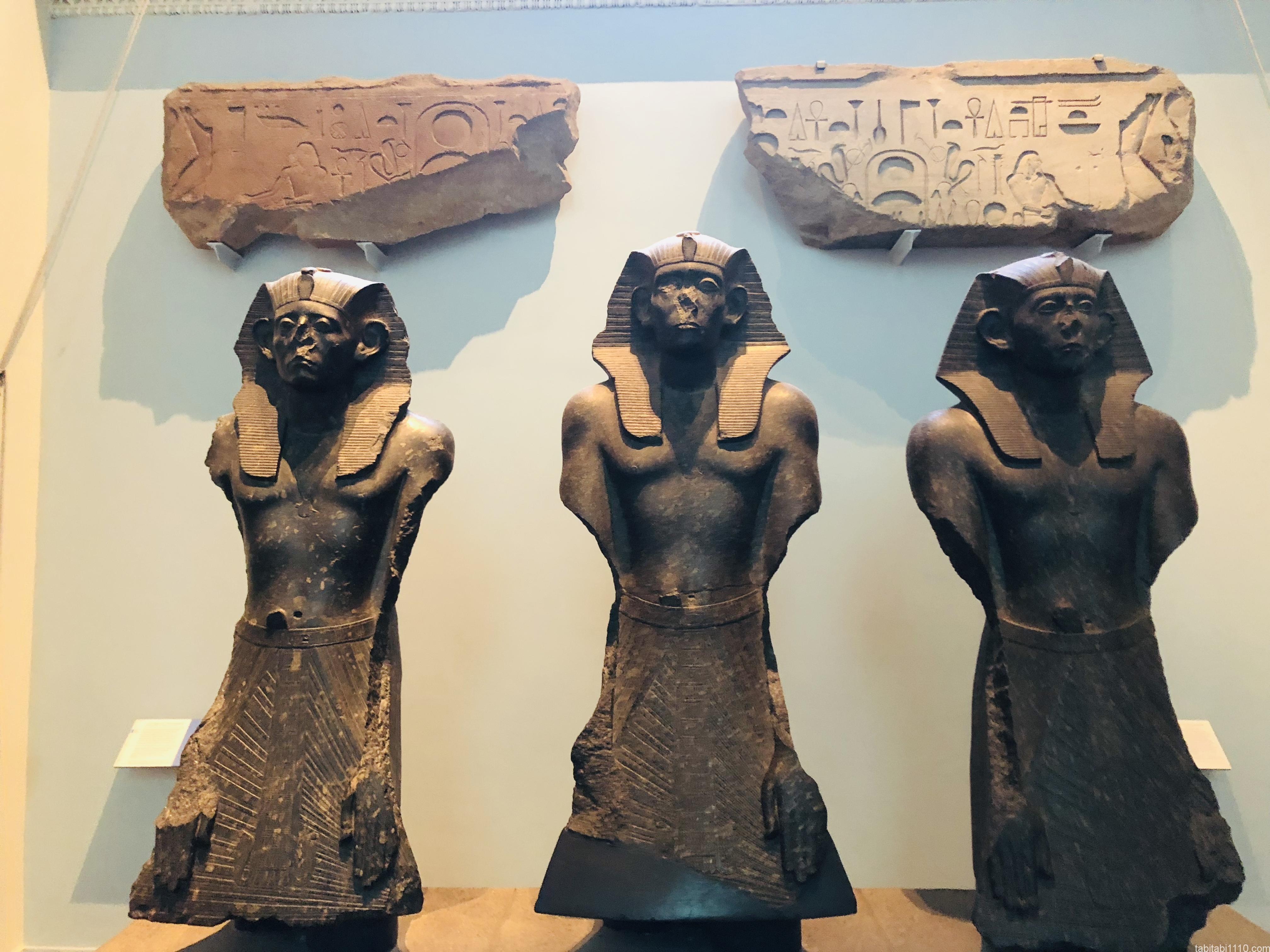 大英博物館|エジプト彫刻