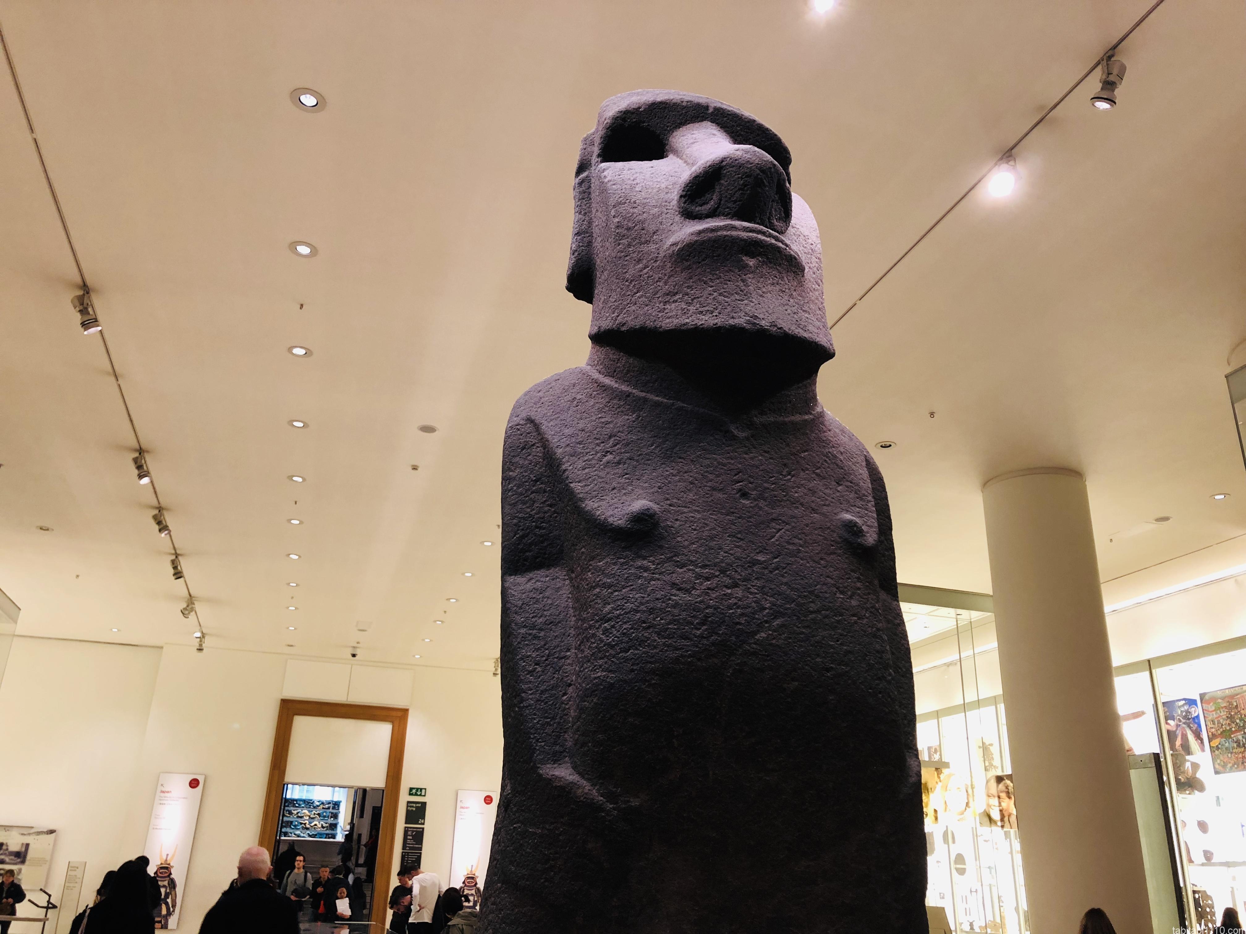 大英博物館|モアイ像