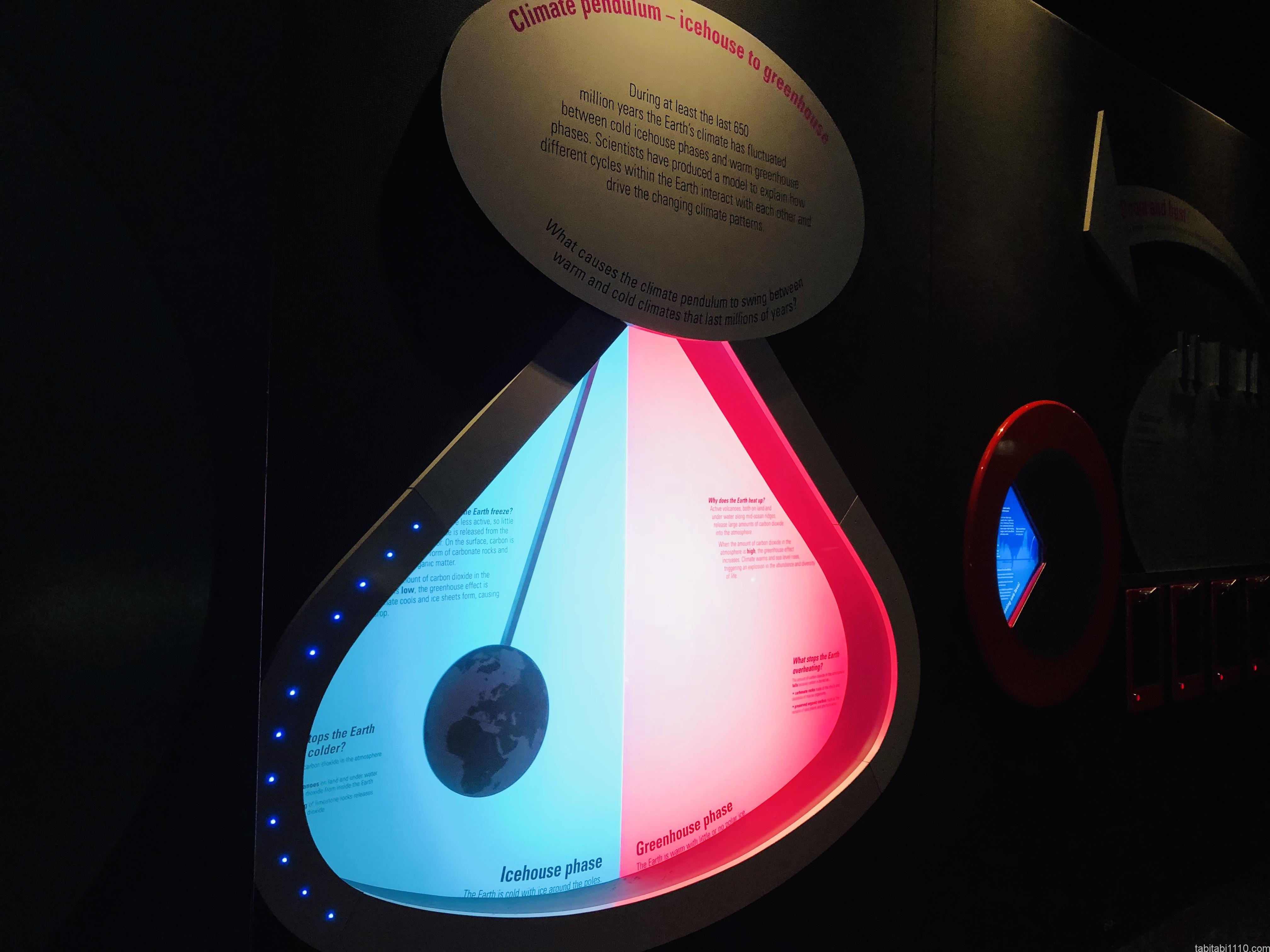 自然史博物館|カウントダウン