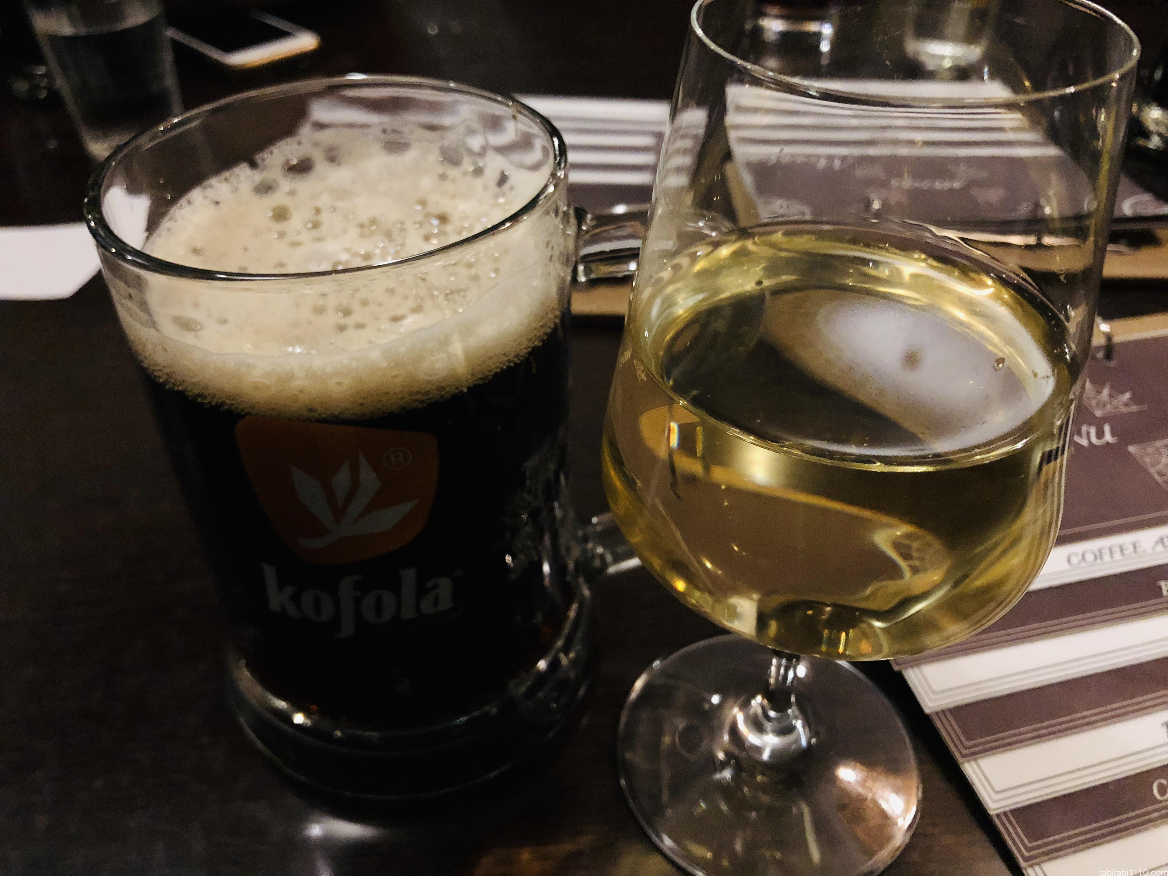 ブラチスラバでワイン