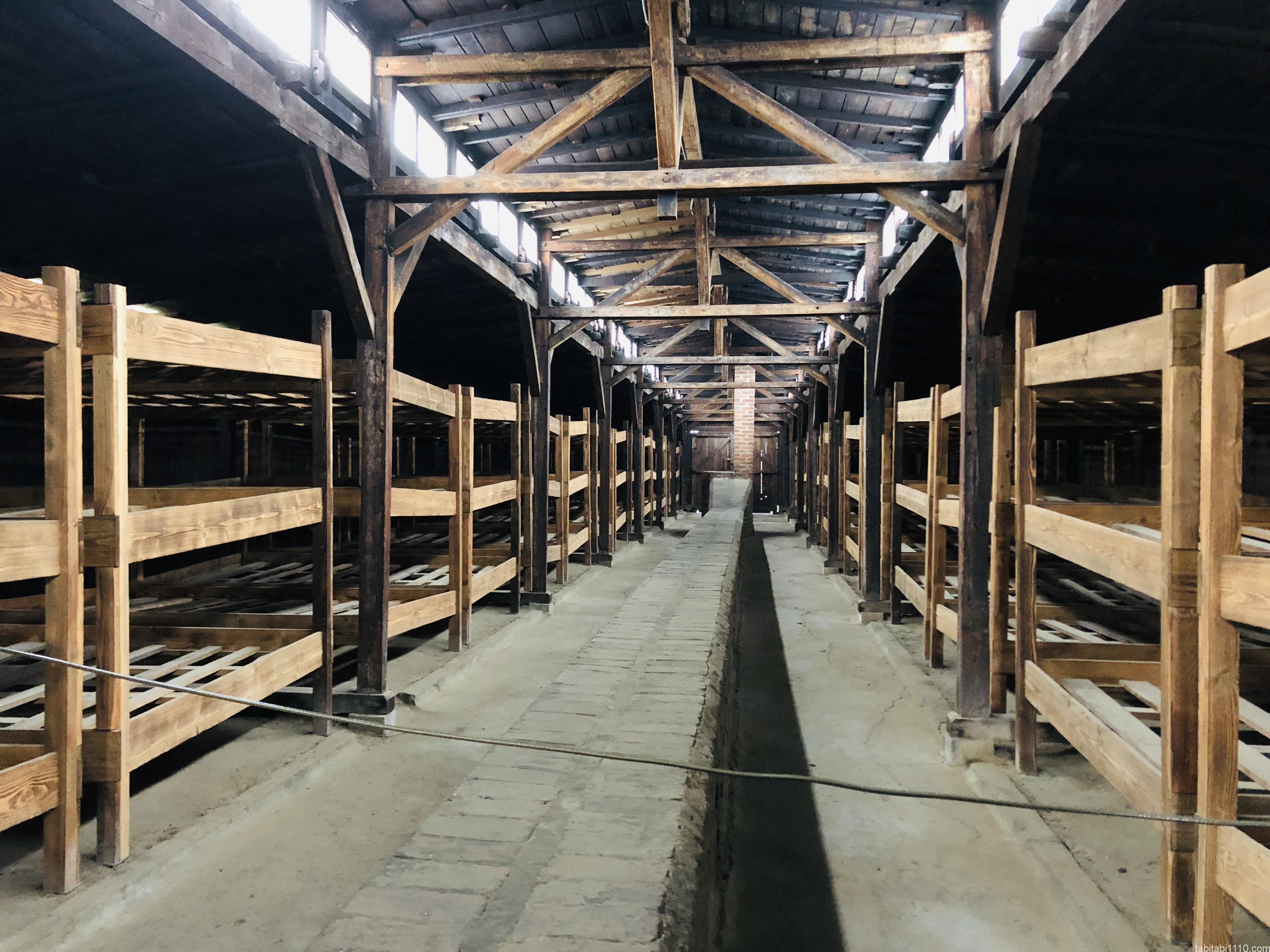 ビルケナウ強制収容所|収容所施設内