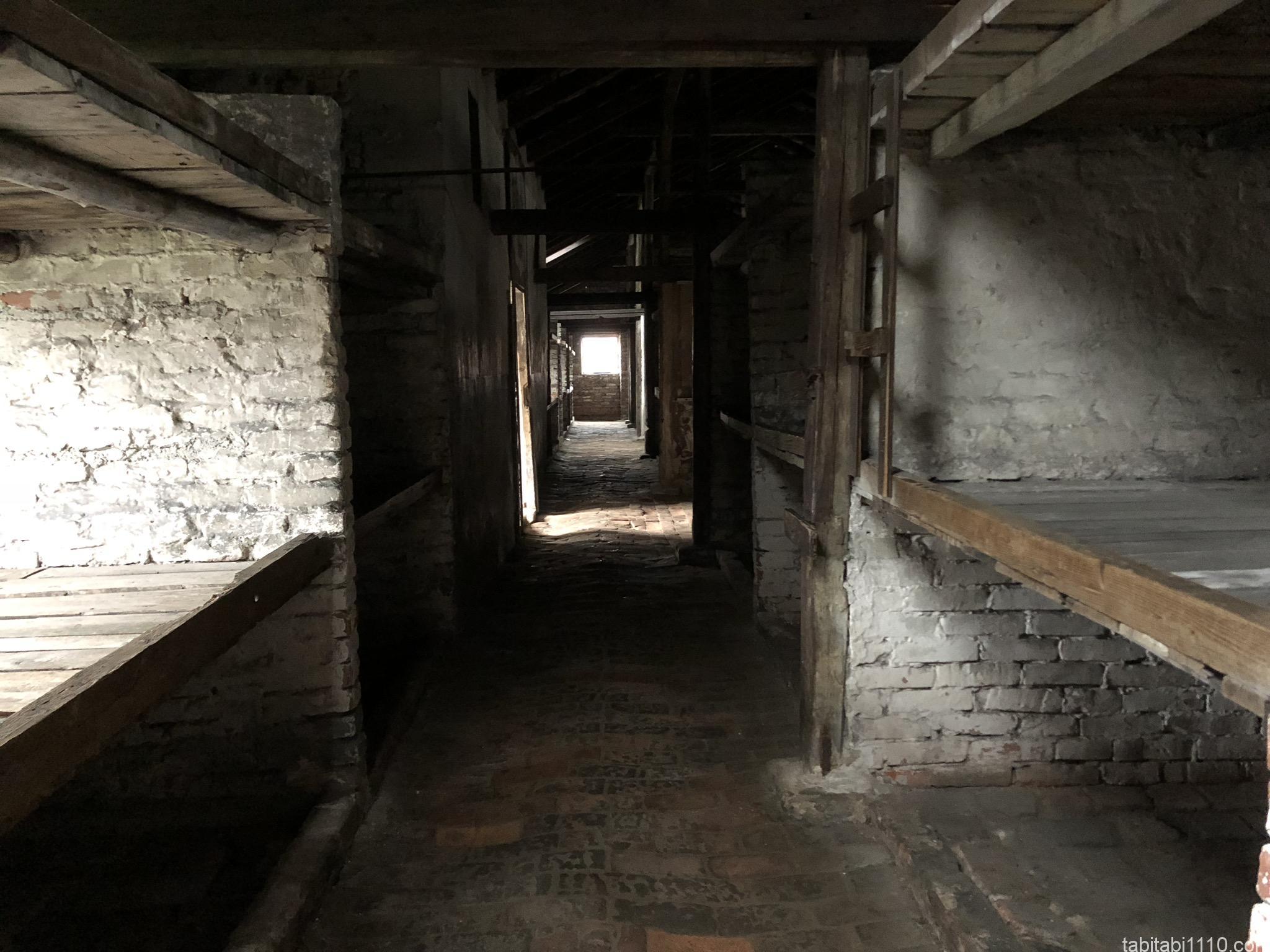 ビルケナウ強制収容所|処刑待つ人の部屋