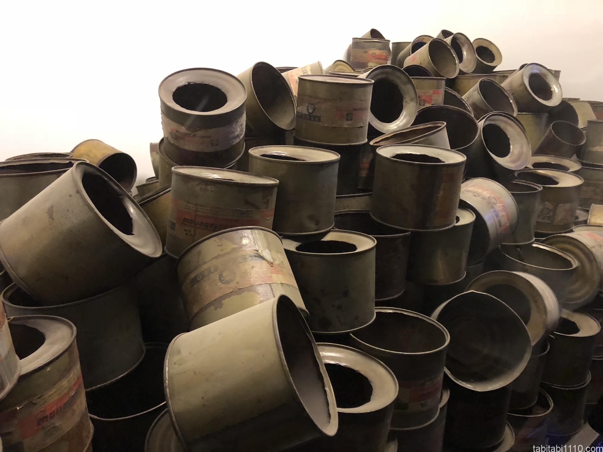 アウシュビッツ強制収容所|ガス缶