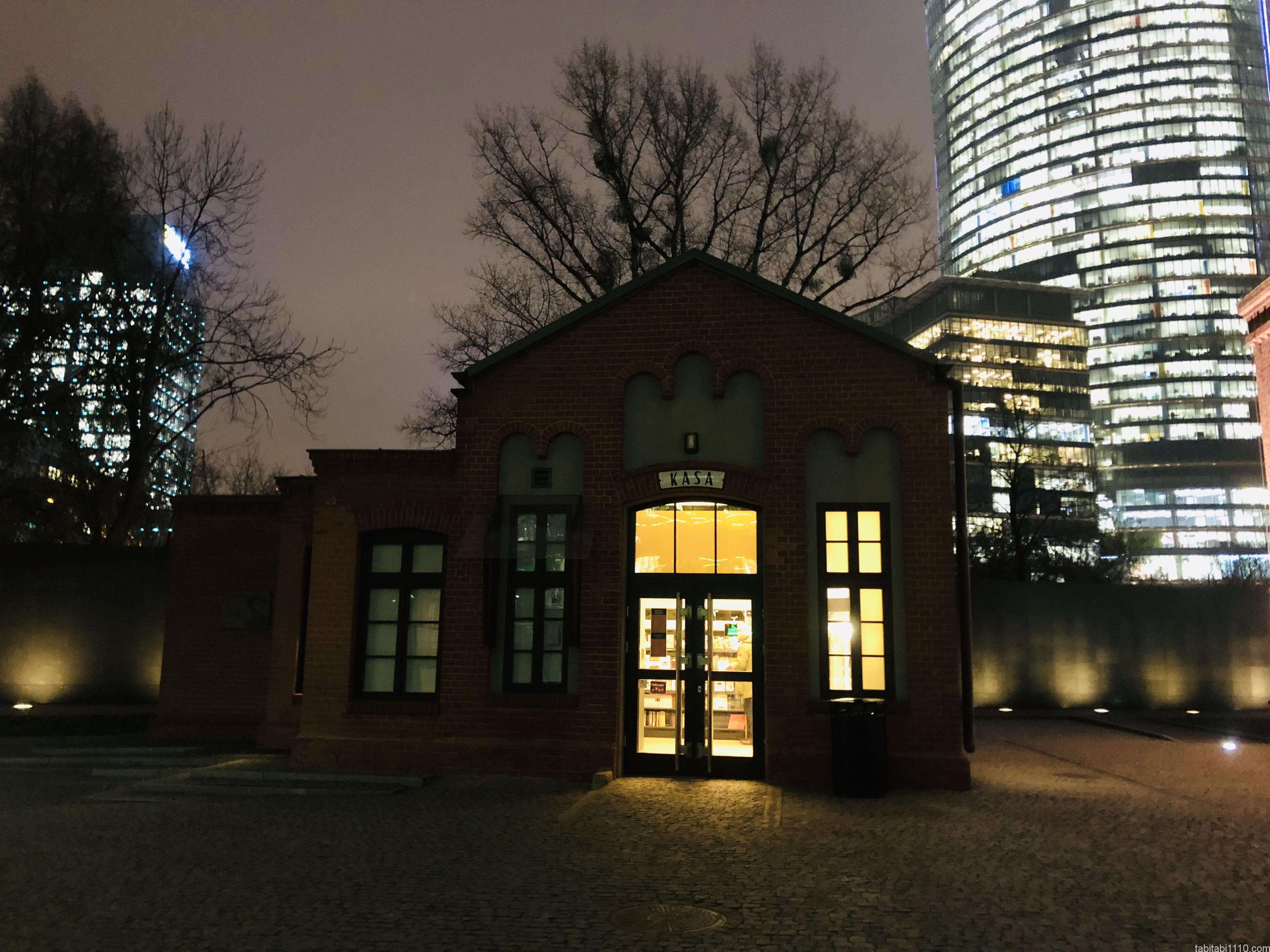 ワルシャワ蜂起博物館|チケット売り場