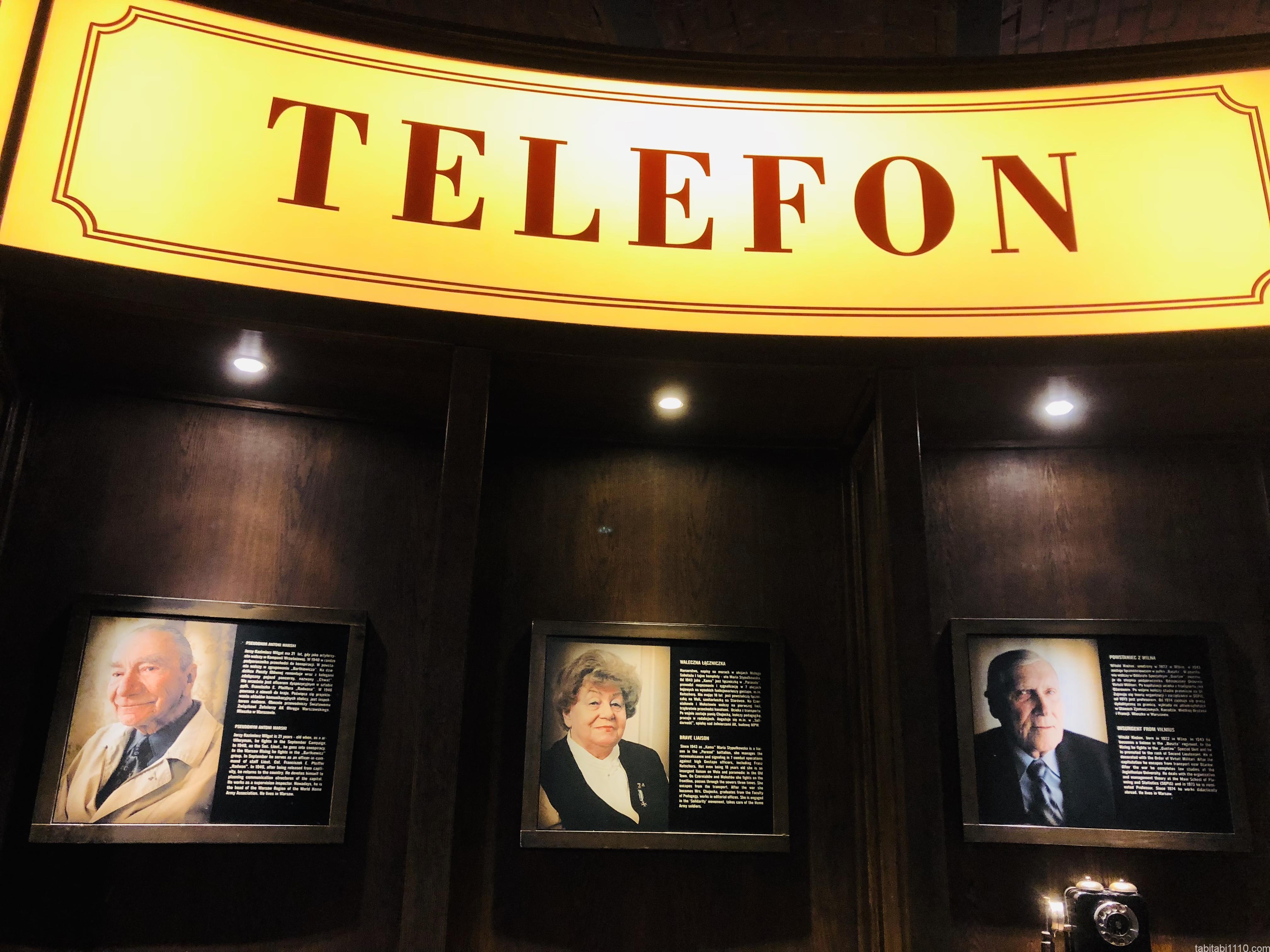 ワルシャワ蜂起博物館|電話