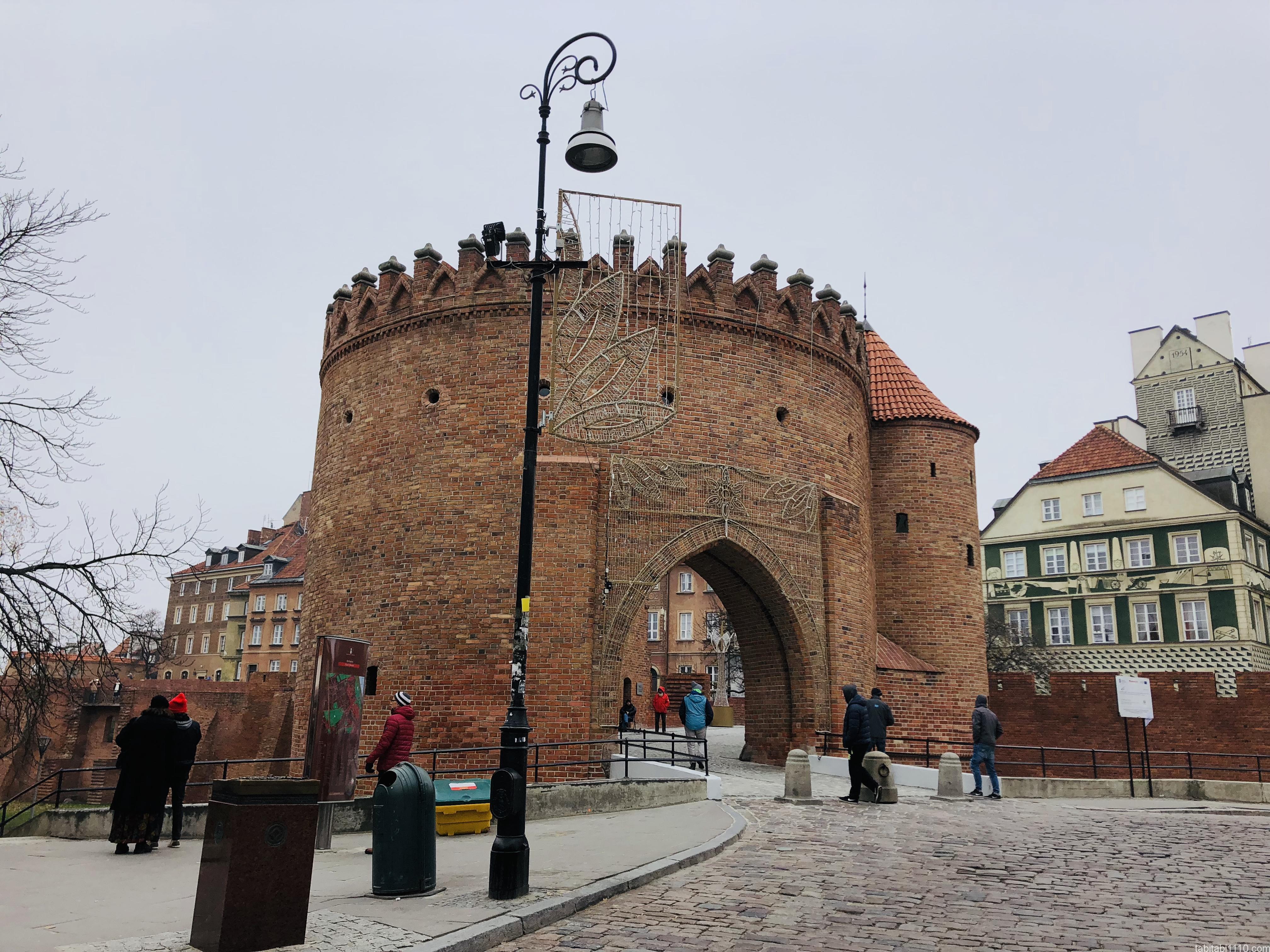 ワルシャワ|バルバカン