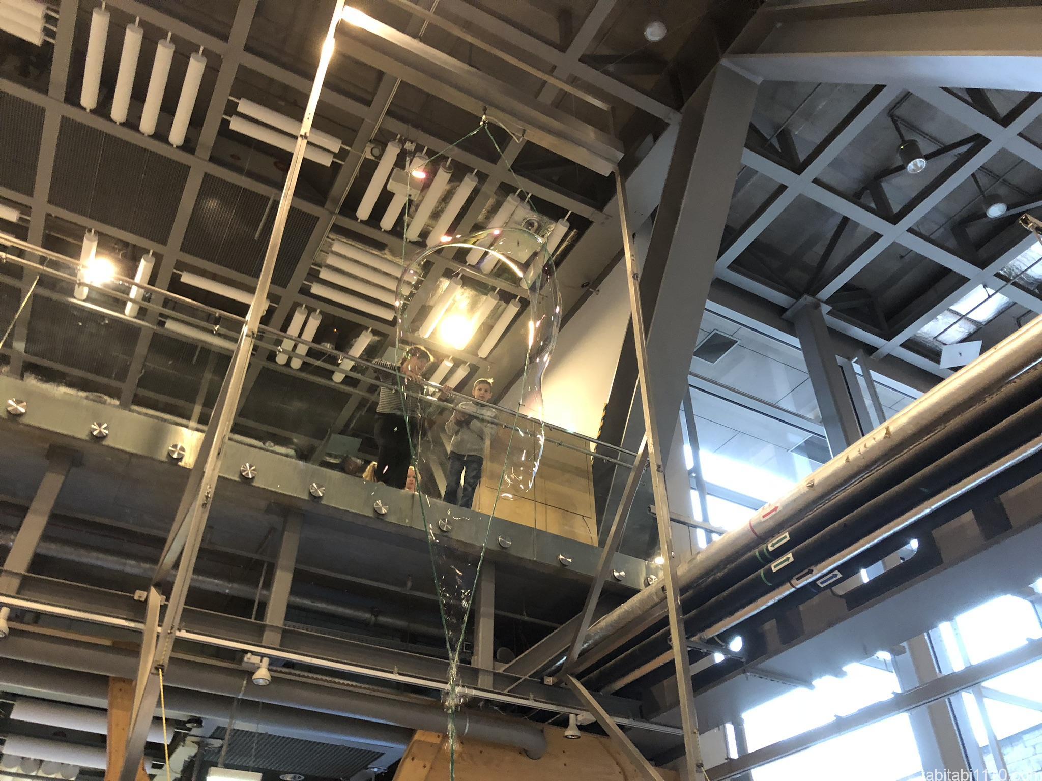コペルニクス科学センター|シャボン玉