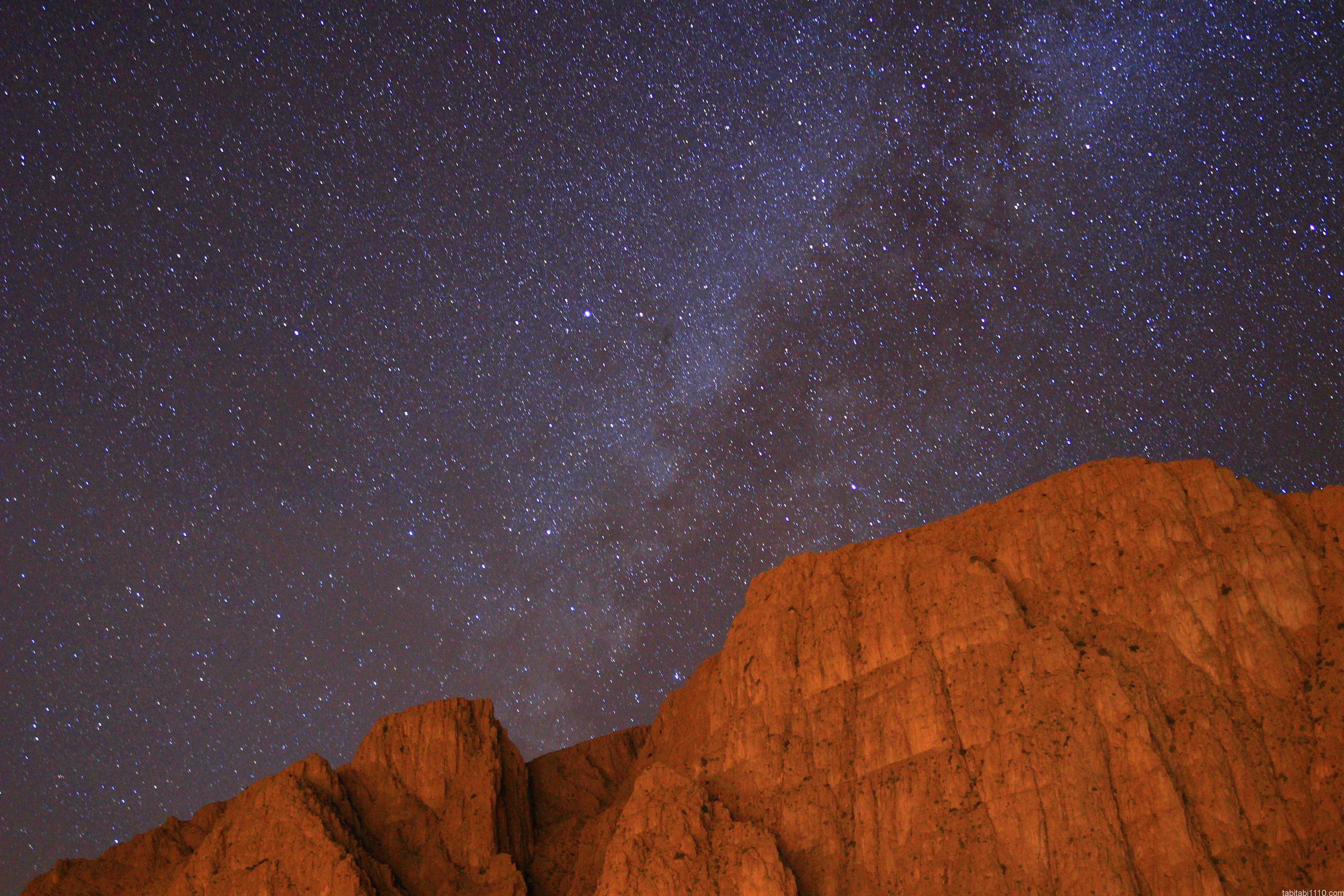 トドラ渓谷の星空