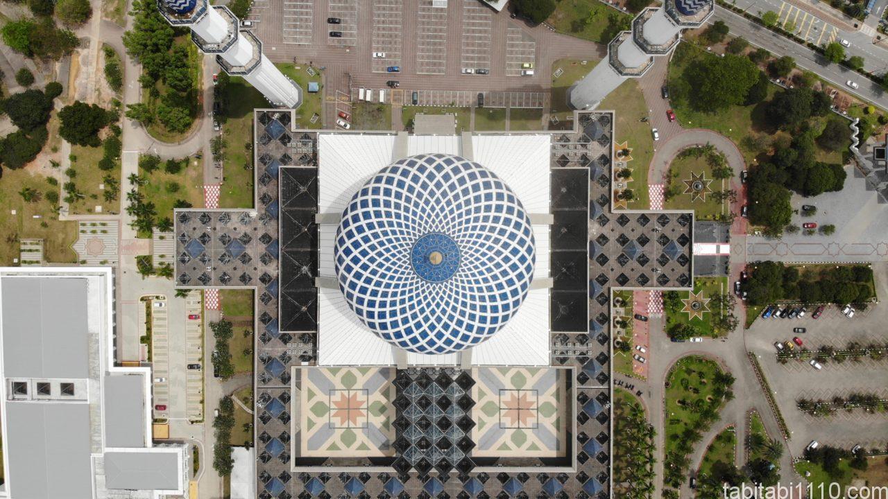 クアラルンプールのブルーモスク