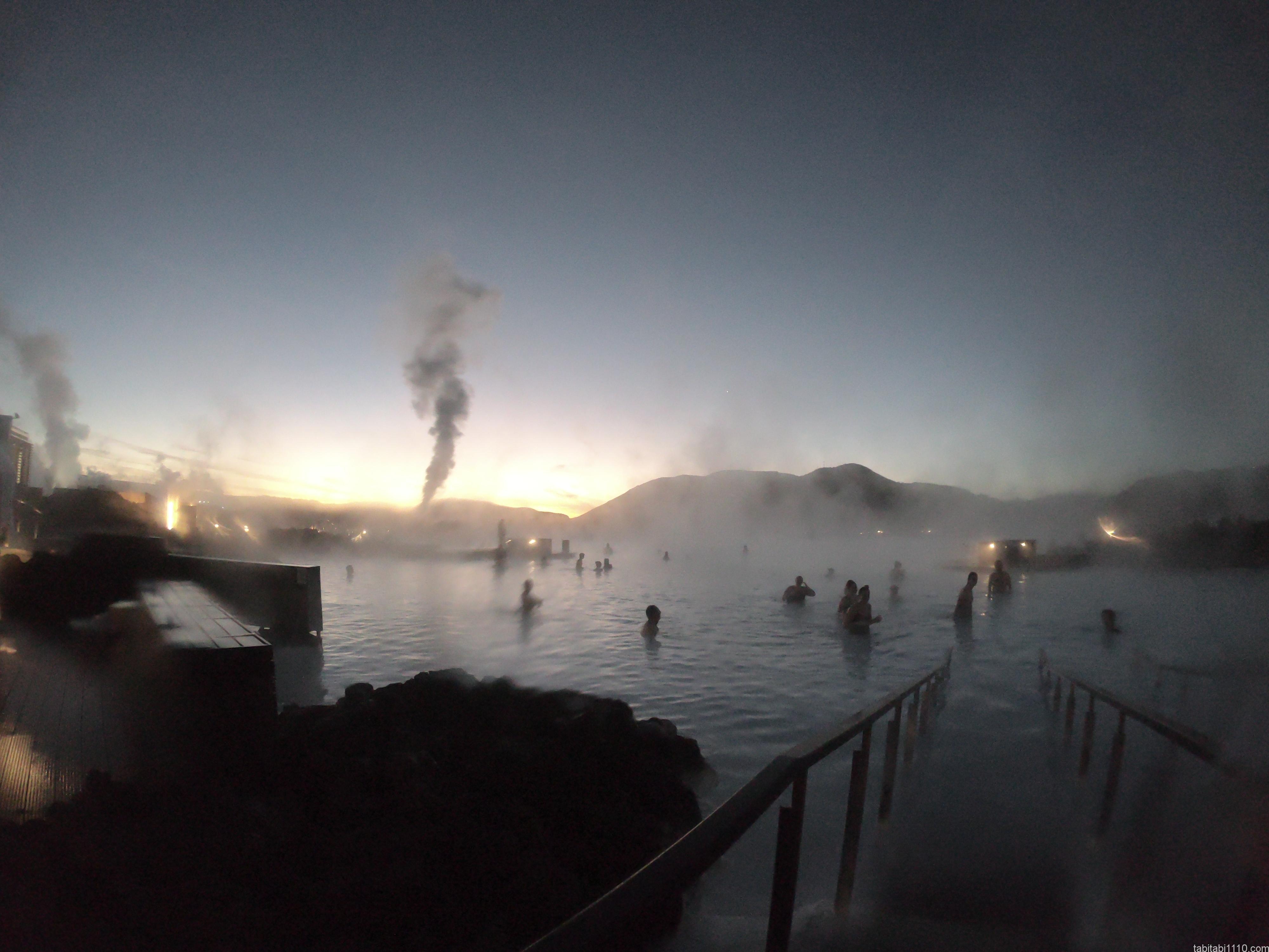 ブルーラグーン|入浴入口