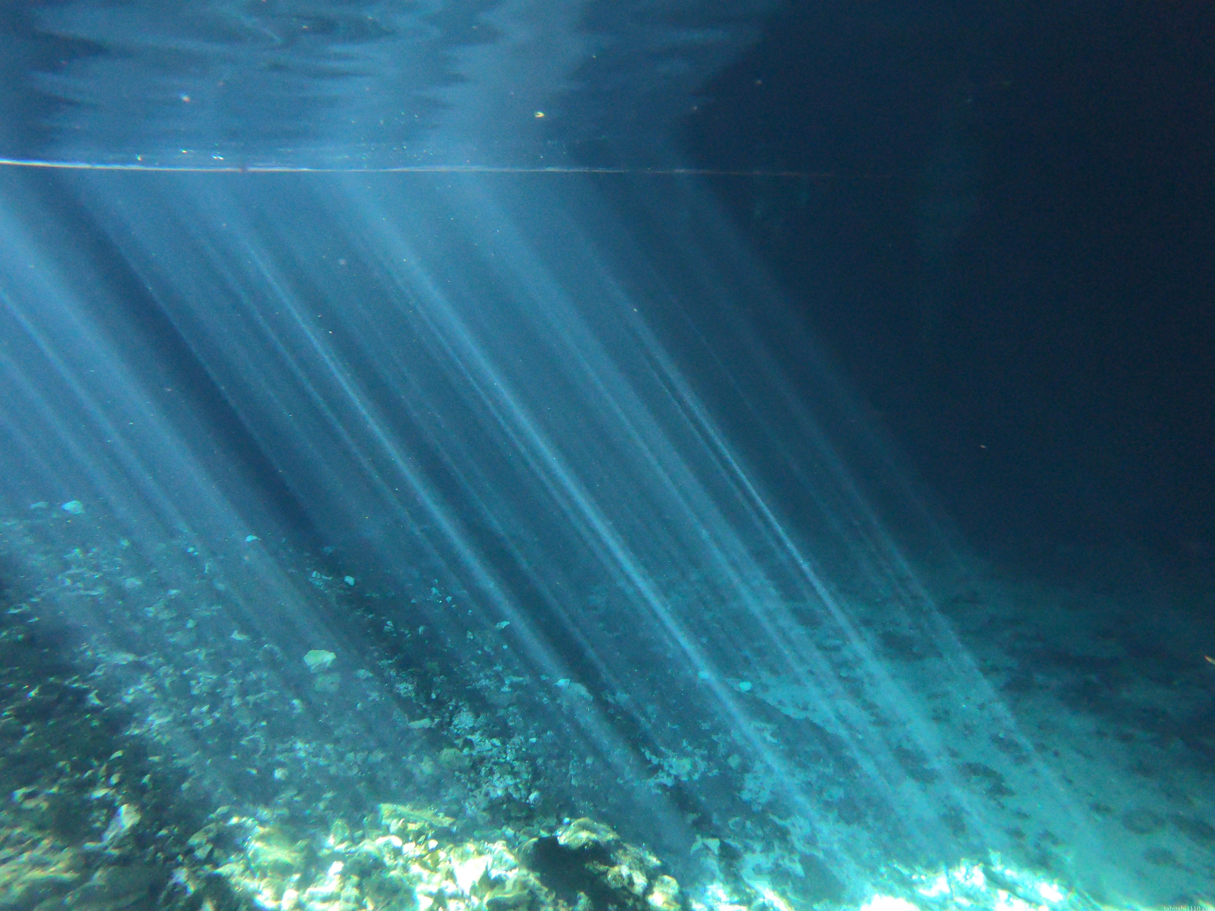 グランセノーテ|光のカーテン