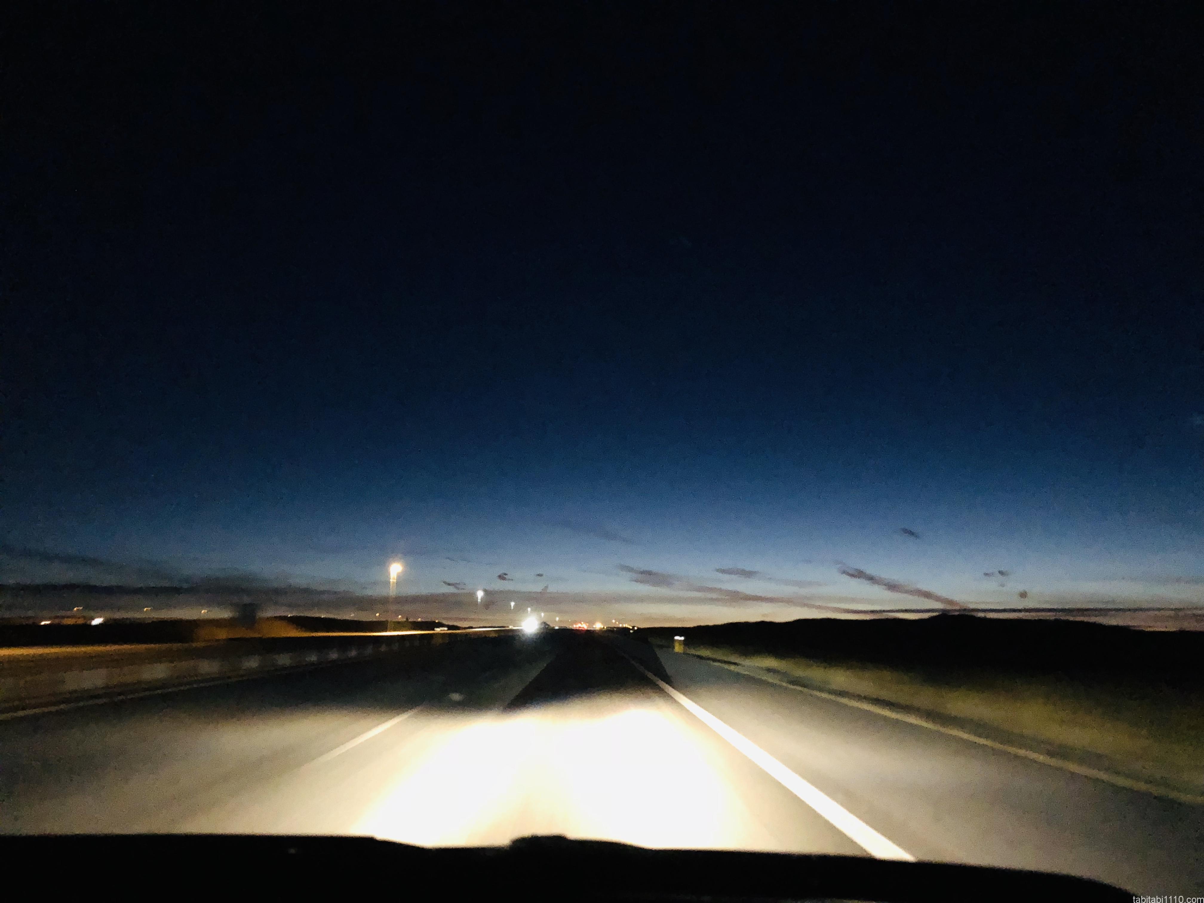 アイスランドレンタカー旅の景色