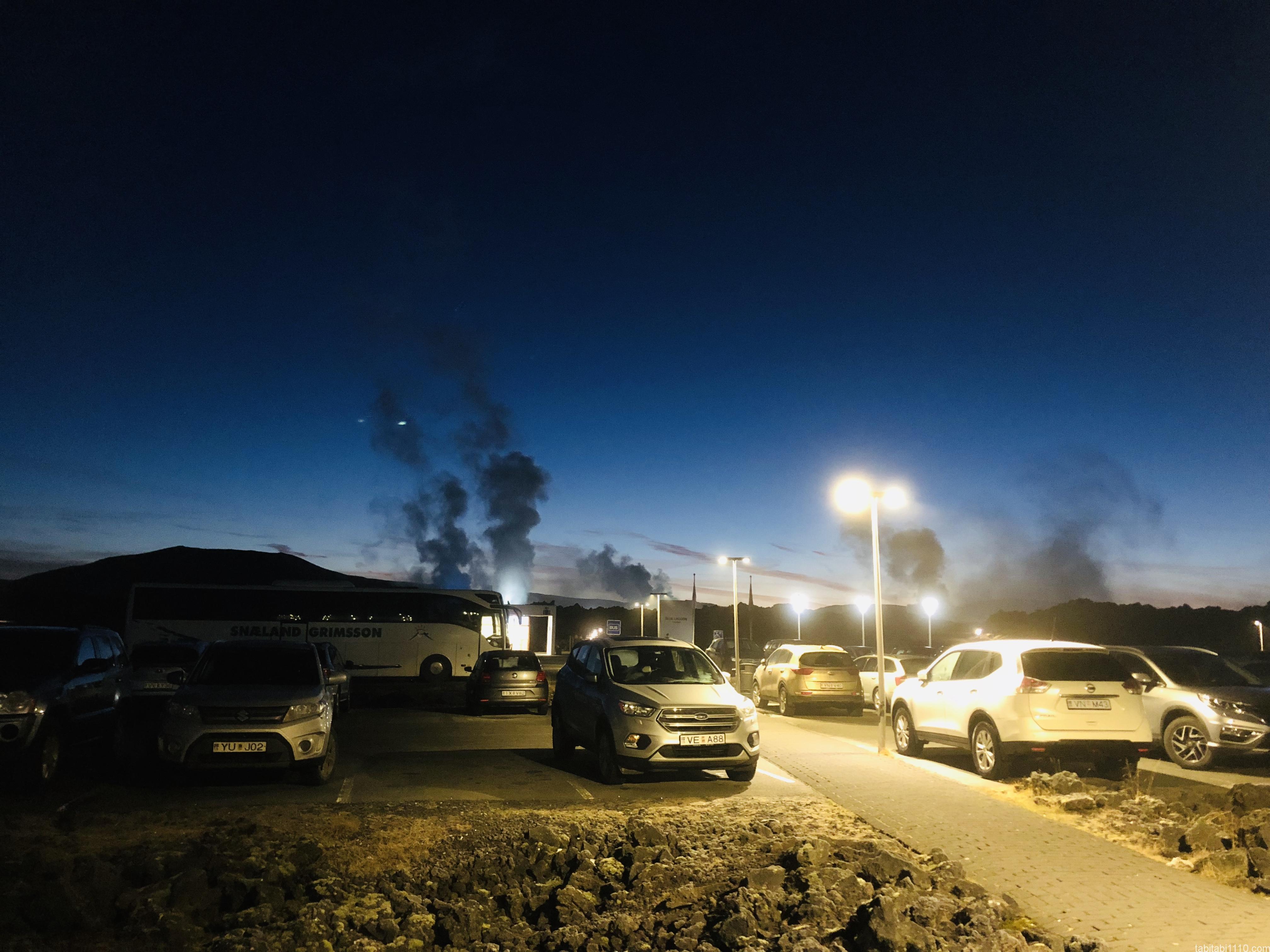ブルーラグーン|駐車場