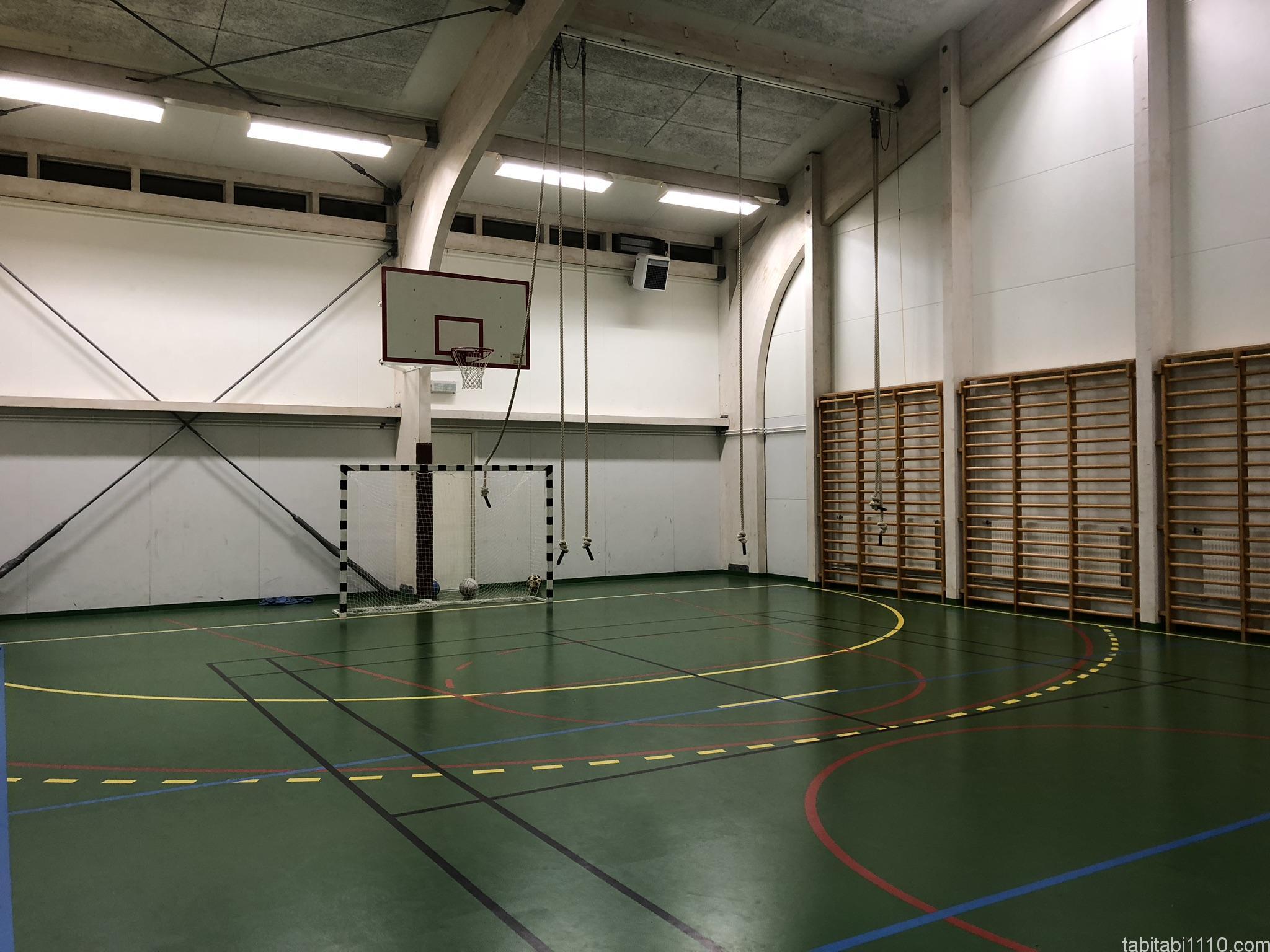 Ljósafossskóli - Hostelの体育館