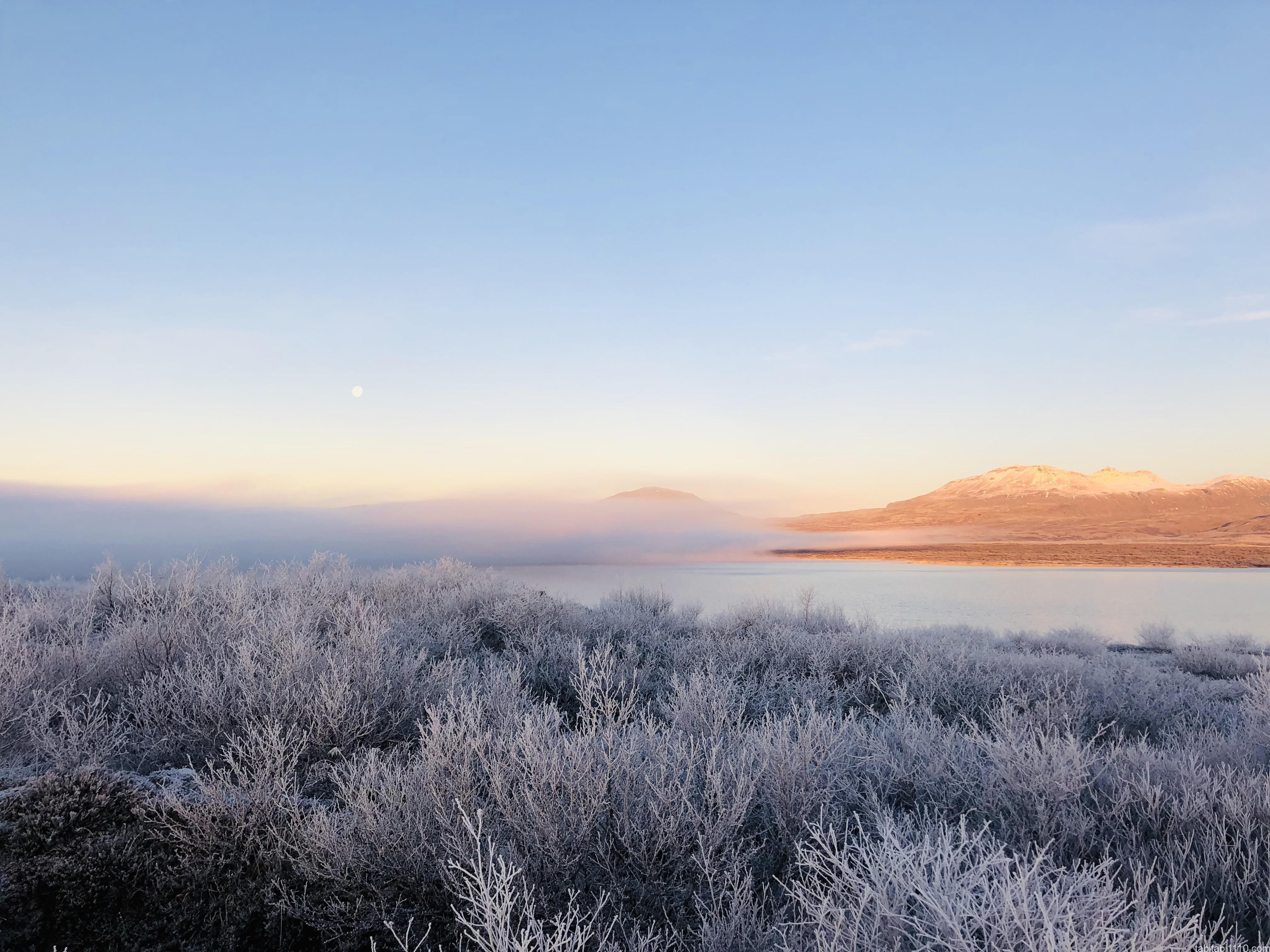 シンクヴェトリル国立公園|アイスランドの雲海