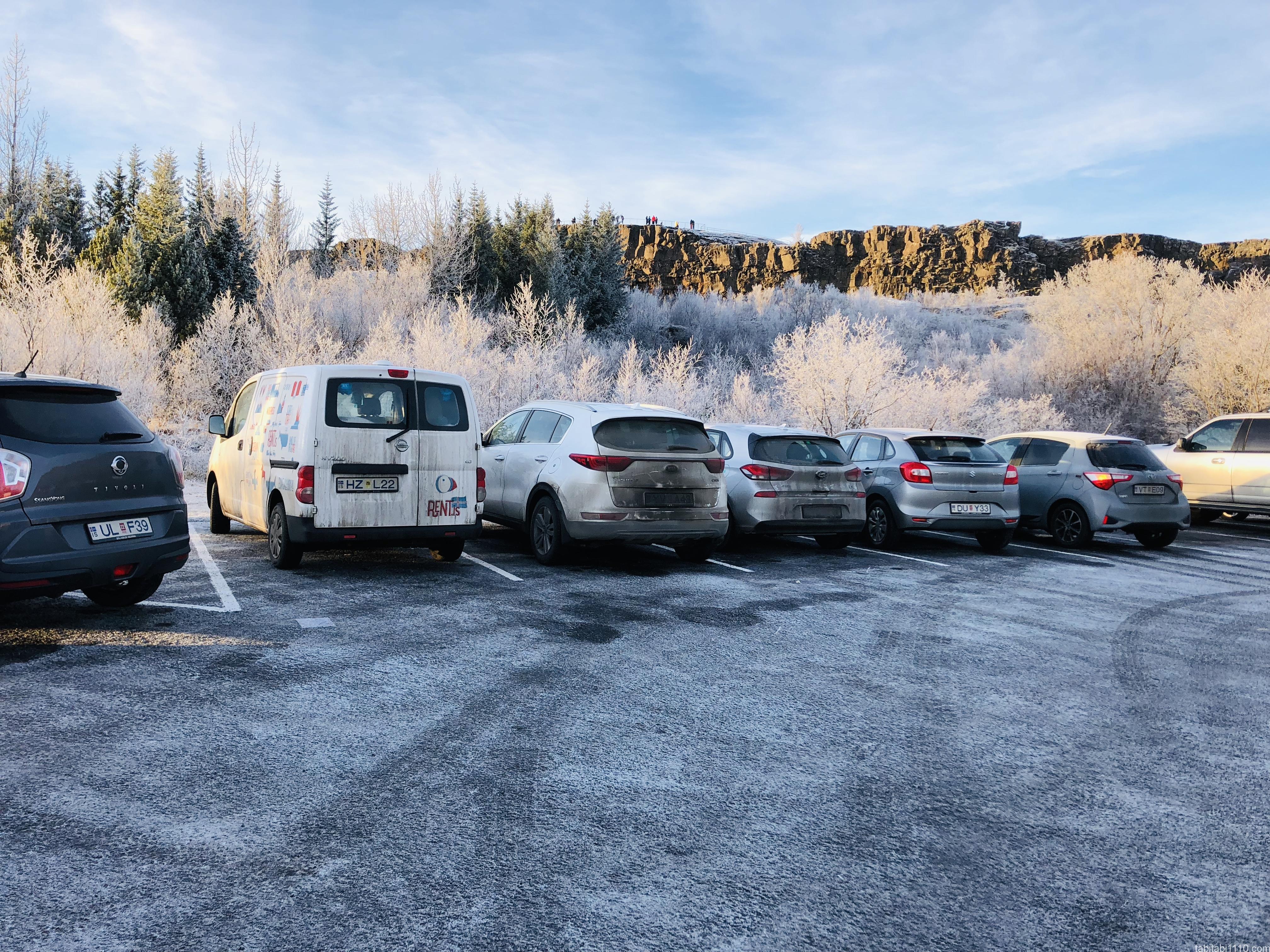 アイスランドでレンタカー