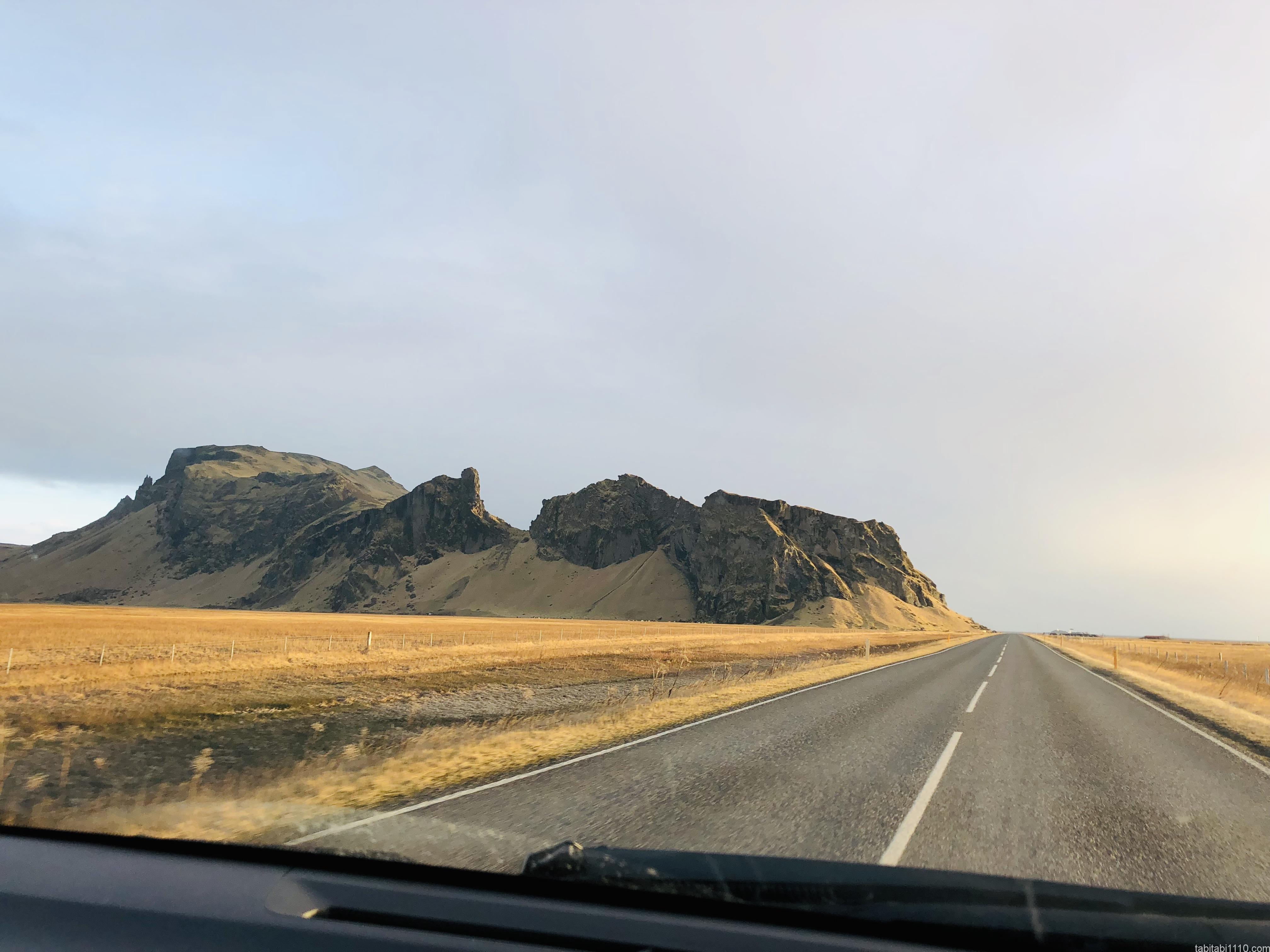 アイスランドドライブロード