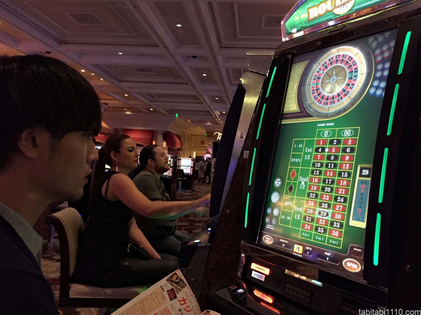 ラスベガス観光|カジノ