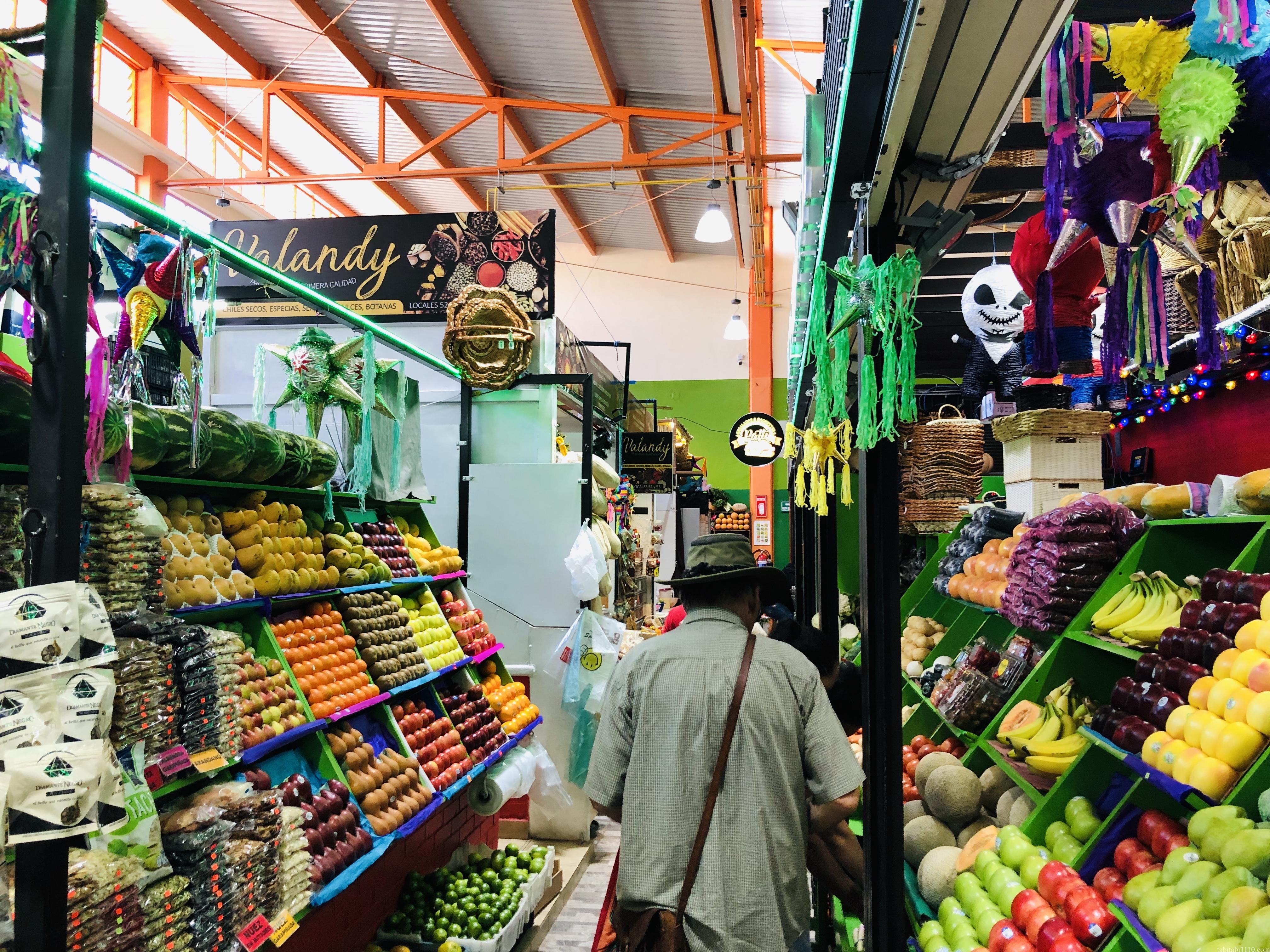 オアハカ イダルゴ市場