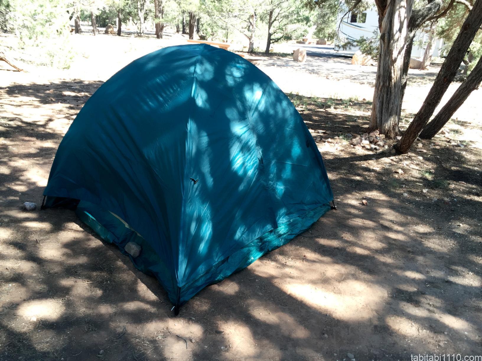 グランドキャニオン|キャンプ