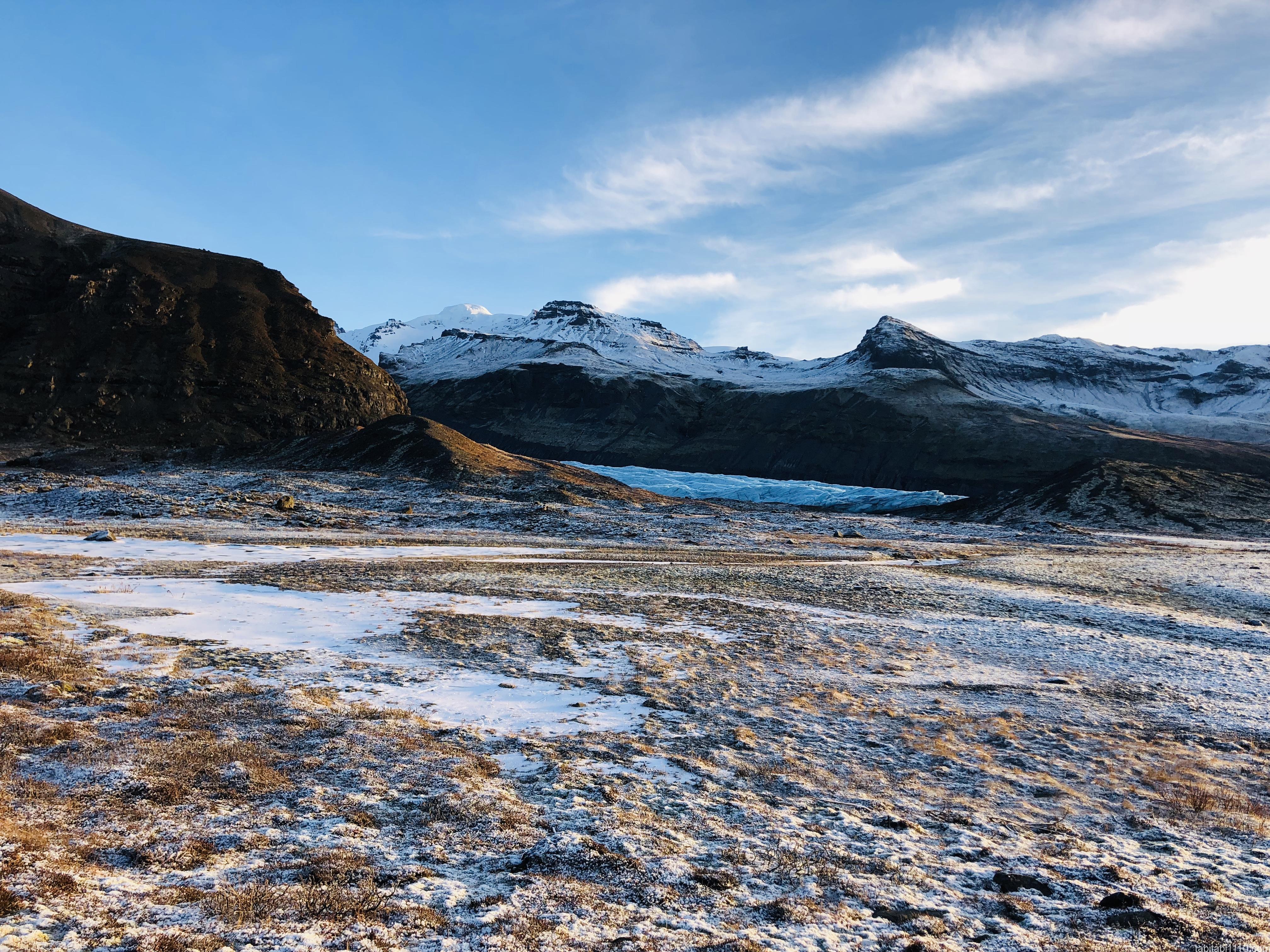 氷河への道