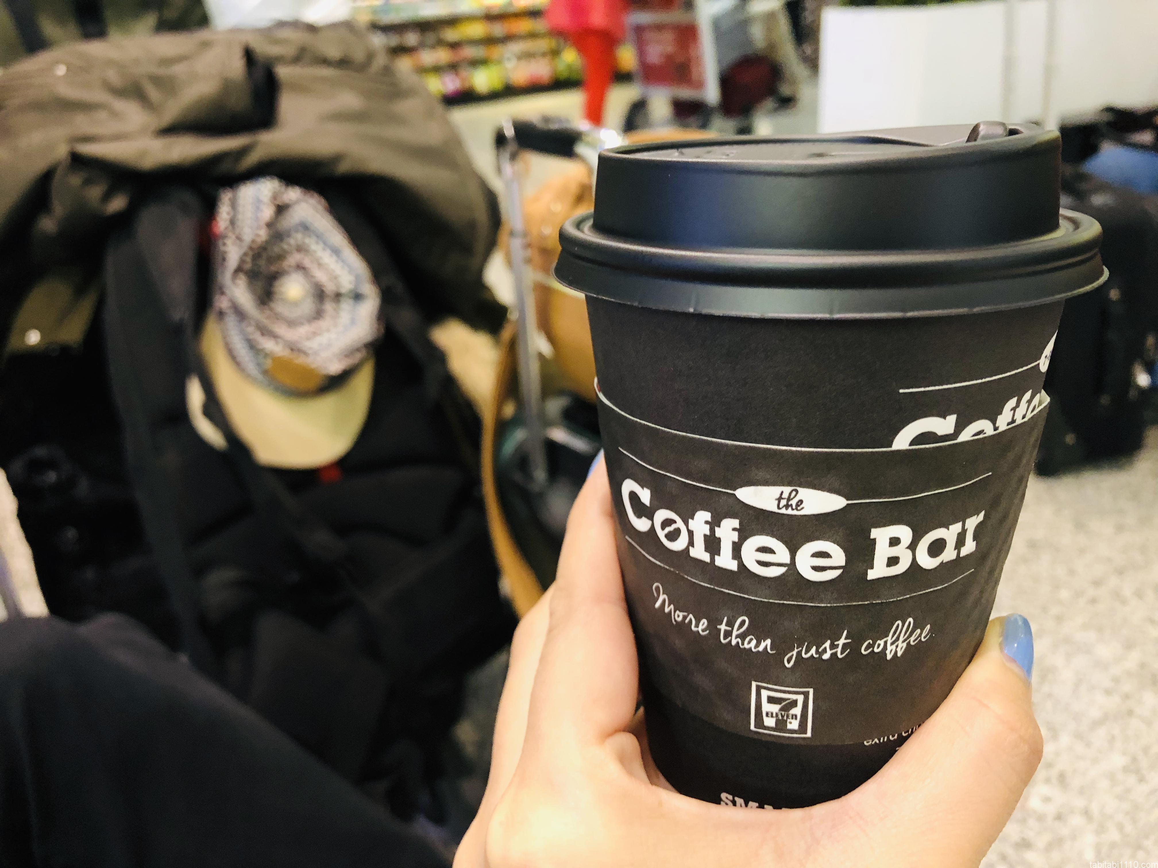 カナダのセブンイレブンのコーヒー