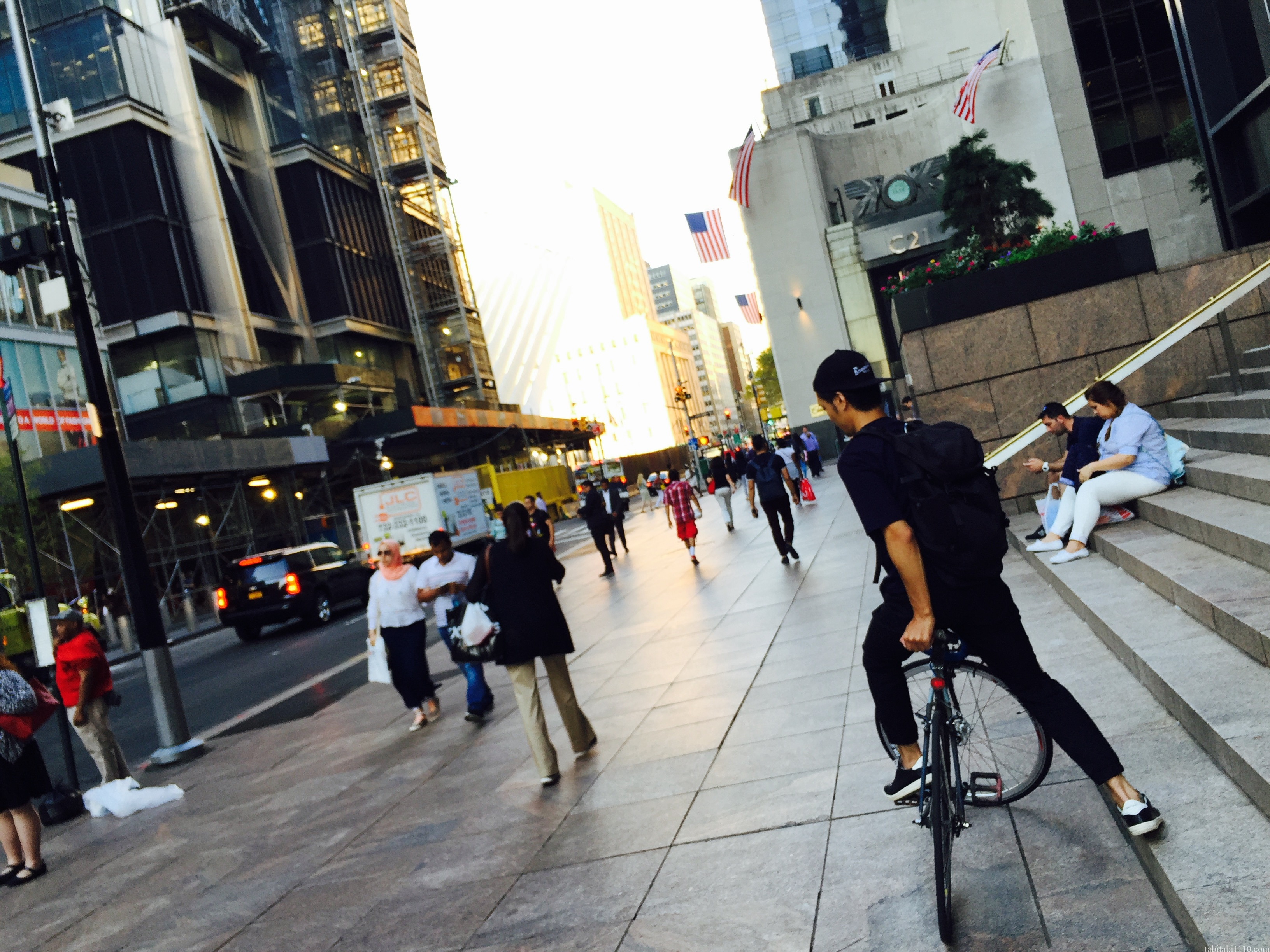ニューヨーク観光|自転車でぶらぶら