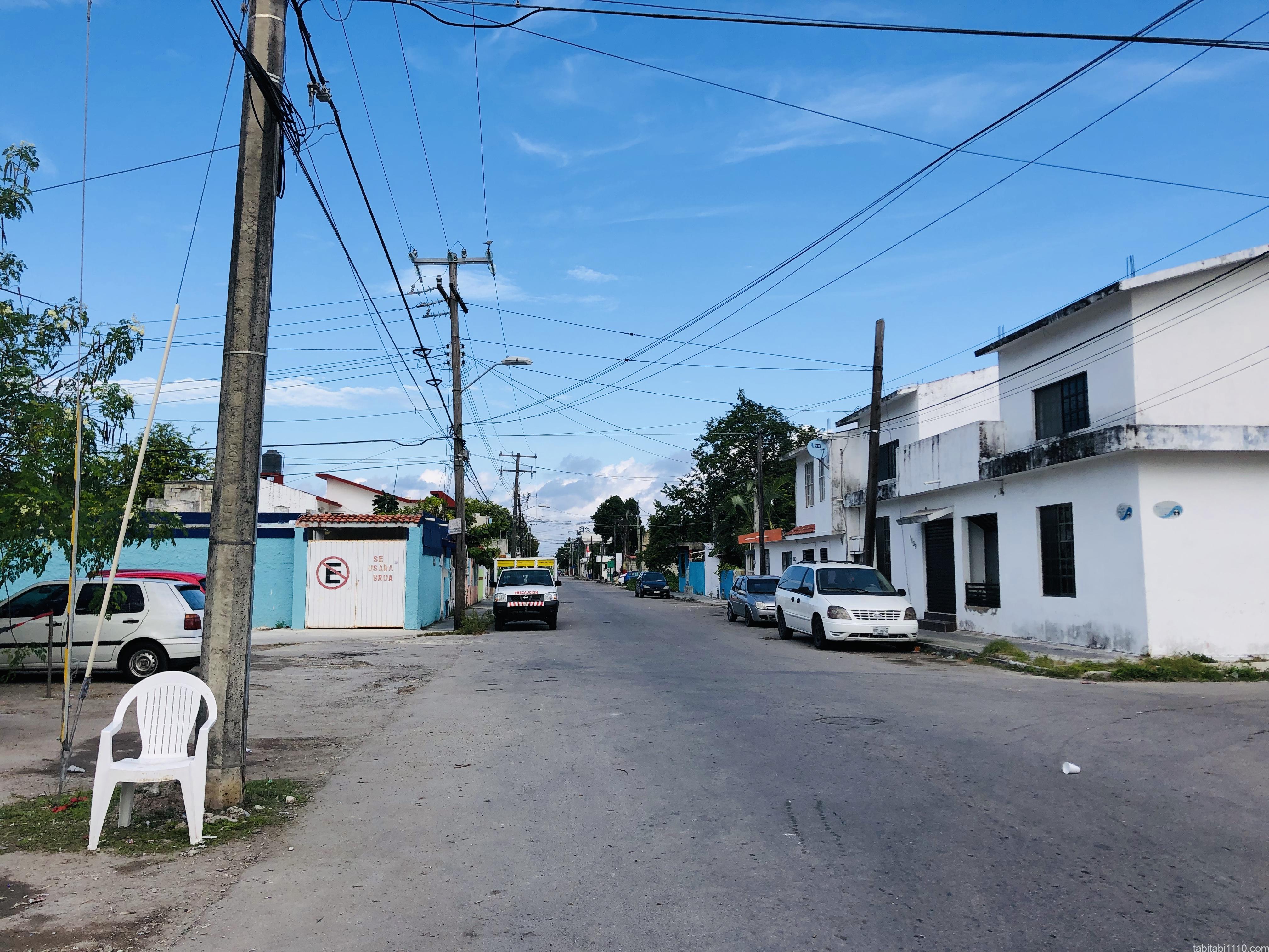 コスメル島|町の様子