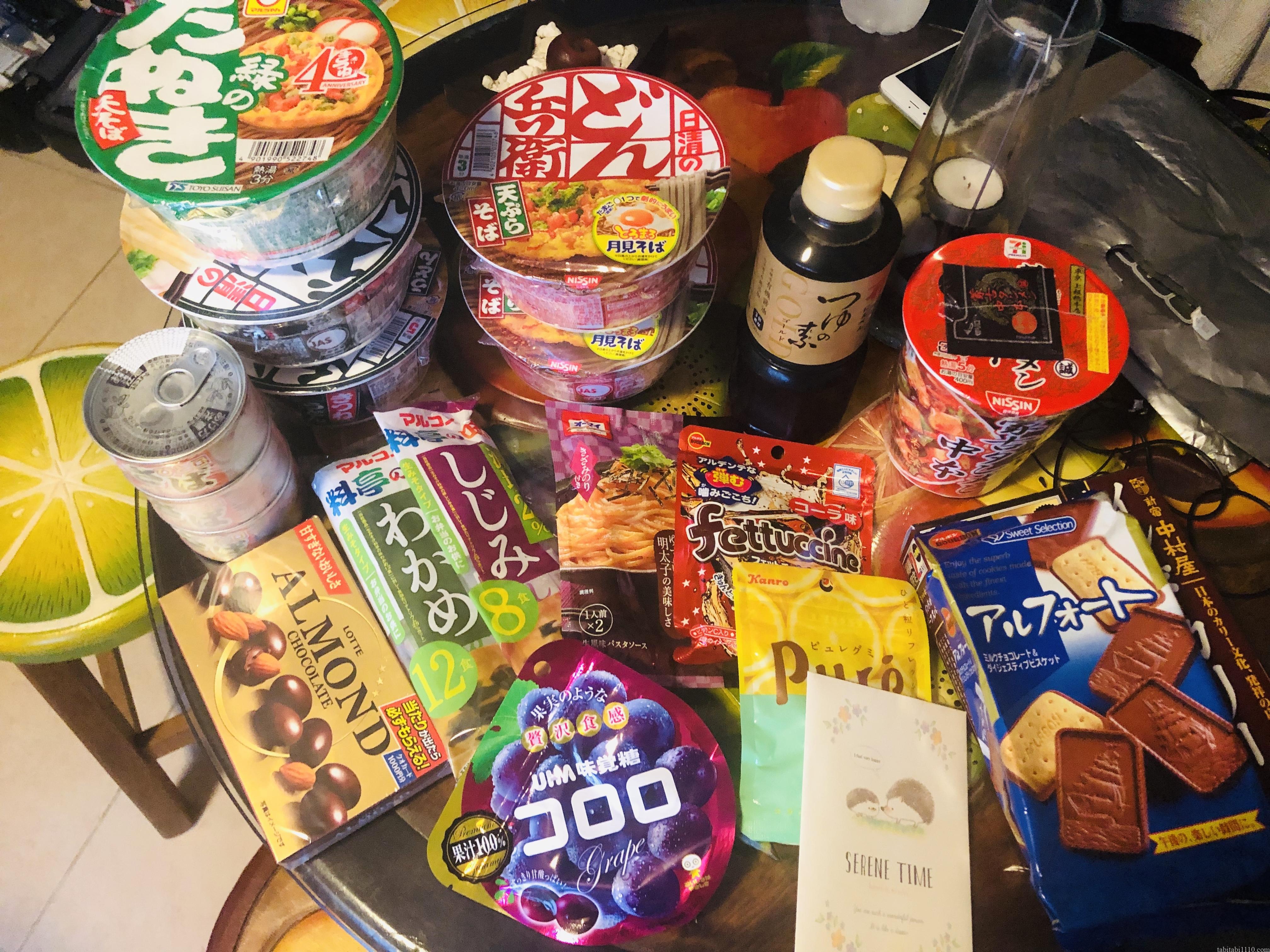 日本食のお土産