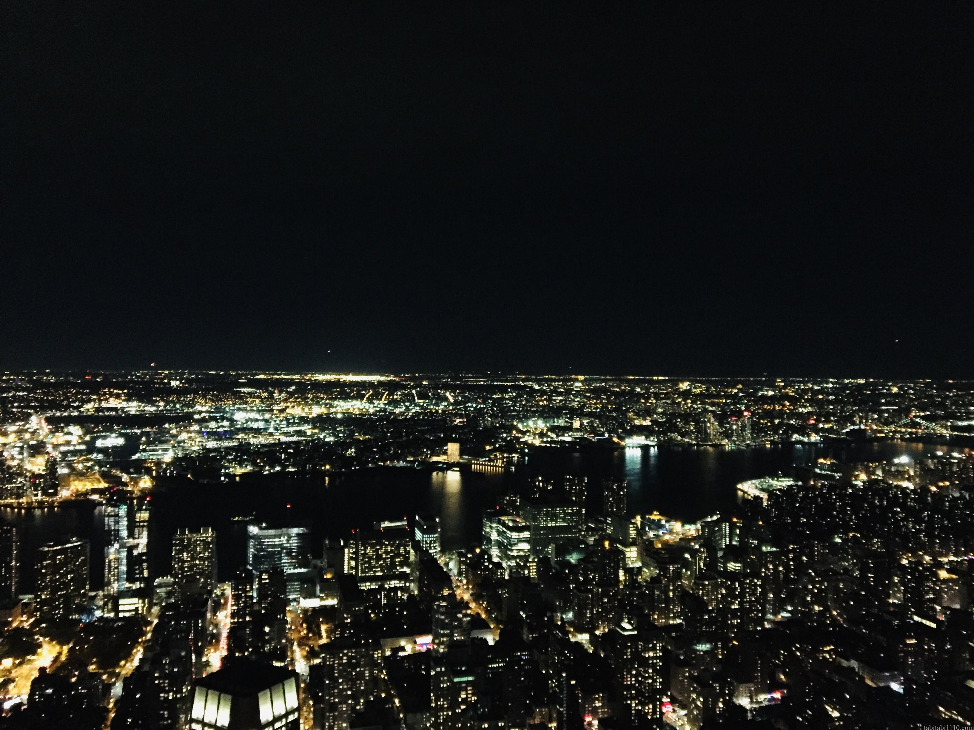ニューヨーク観光|エンパイアステートビルからの夜景