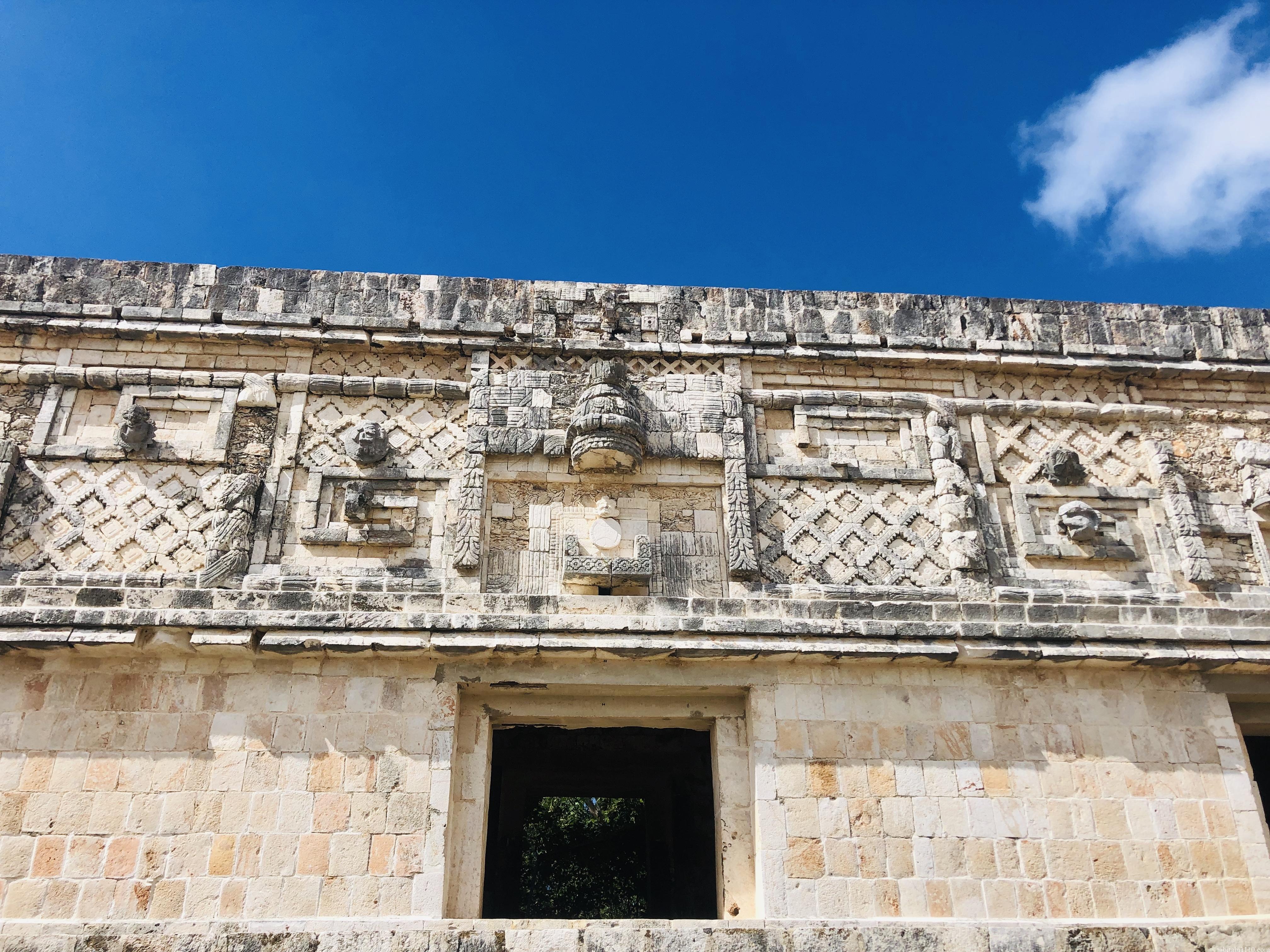ウシュマル遺跡|尼僧院