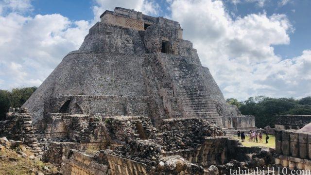 ウシュマル遺跡|ピラミッド