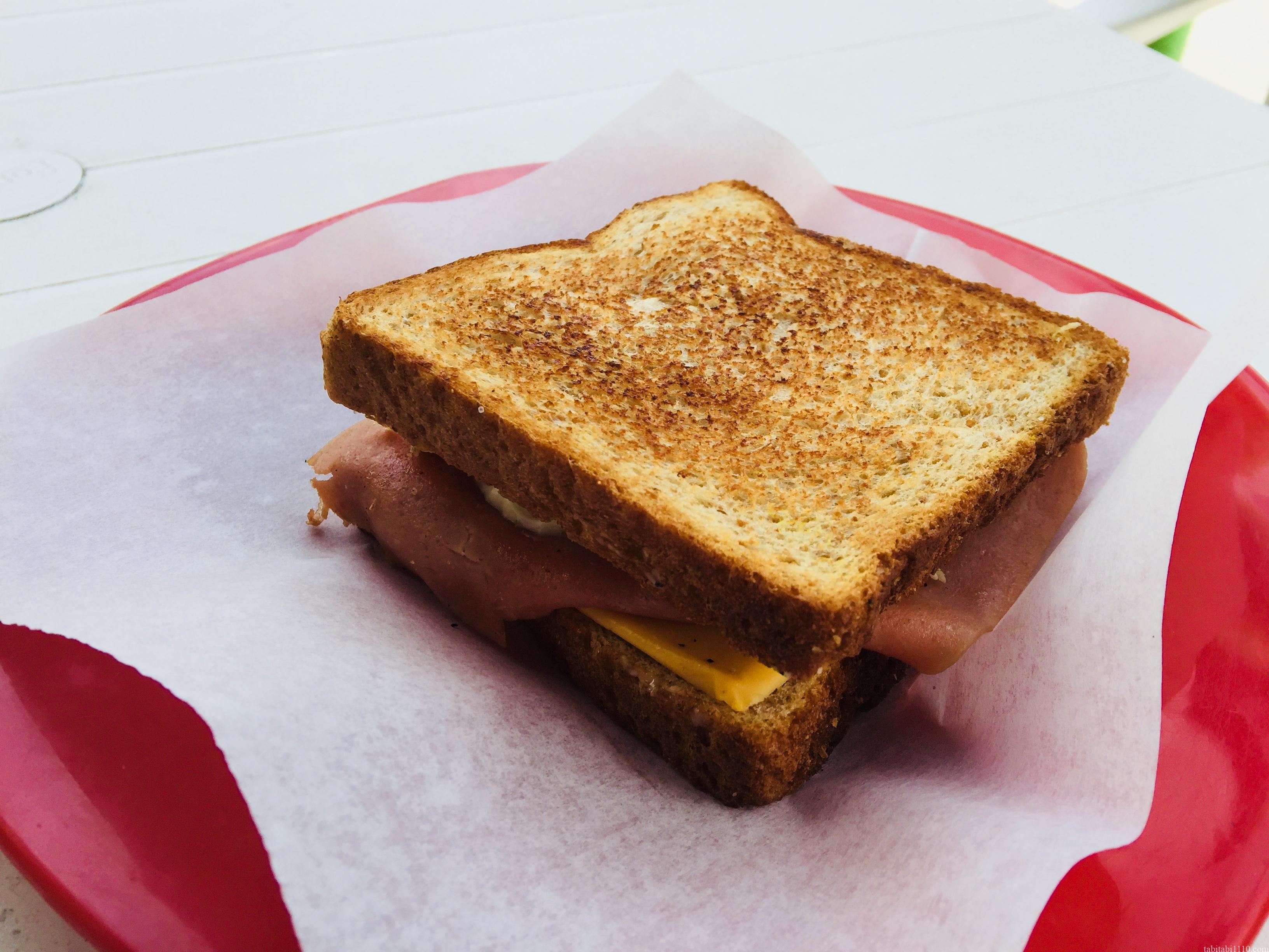 カンクンで食べたサンドイッチ
