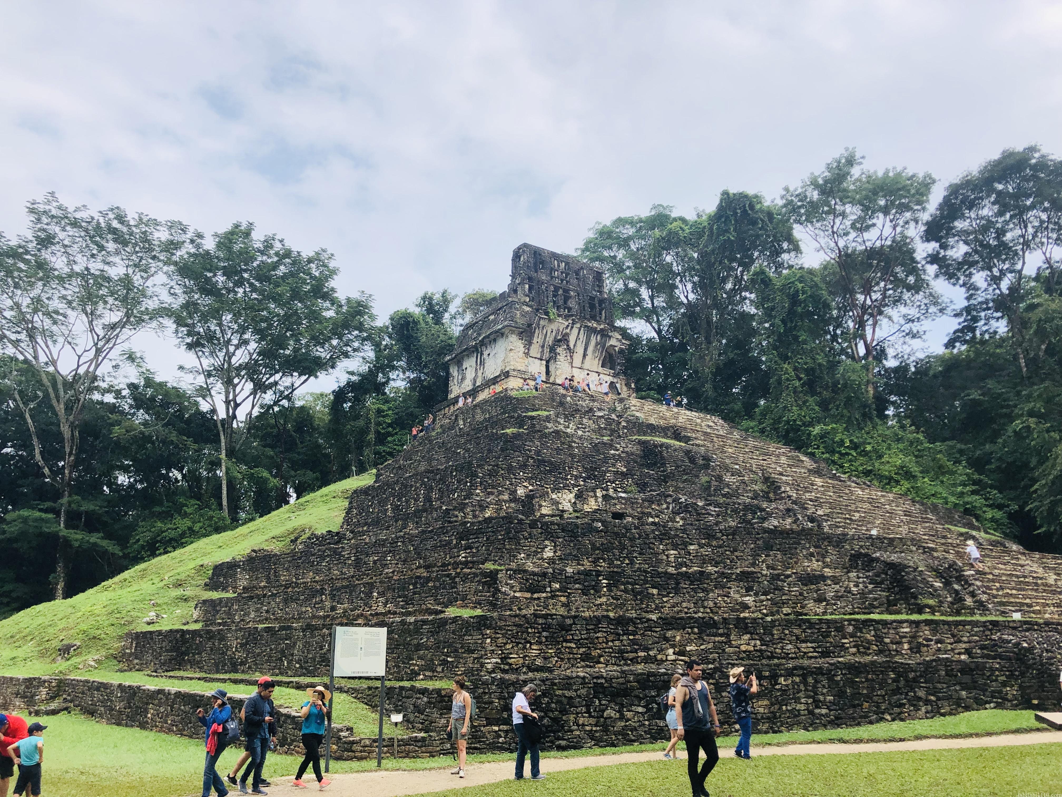 パレンケ遺跡|十字架の神殿
