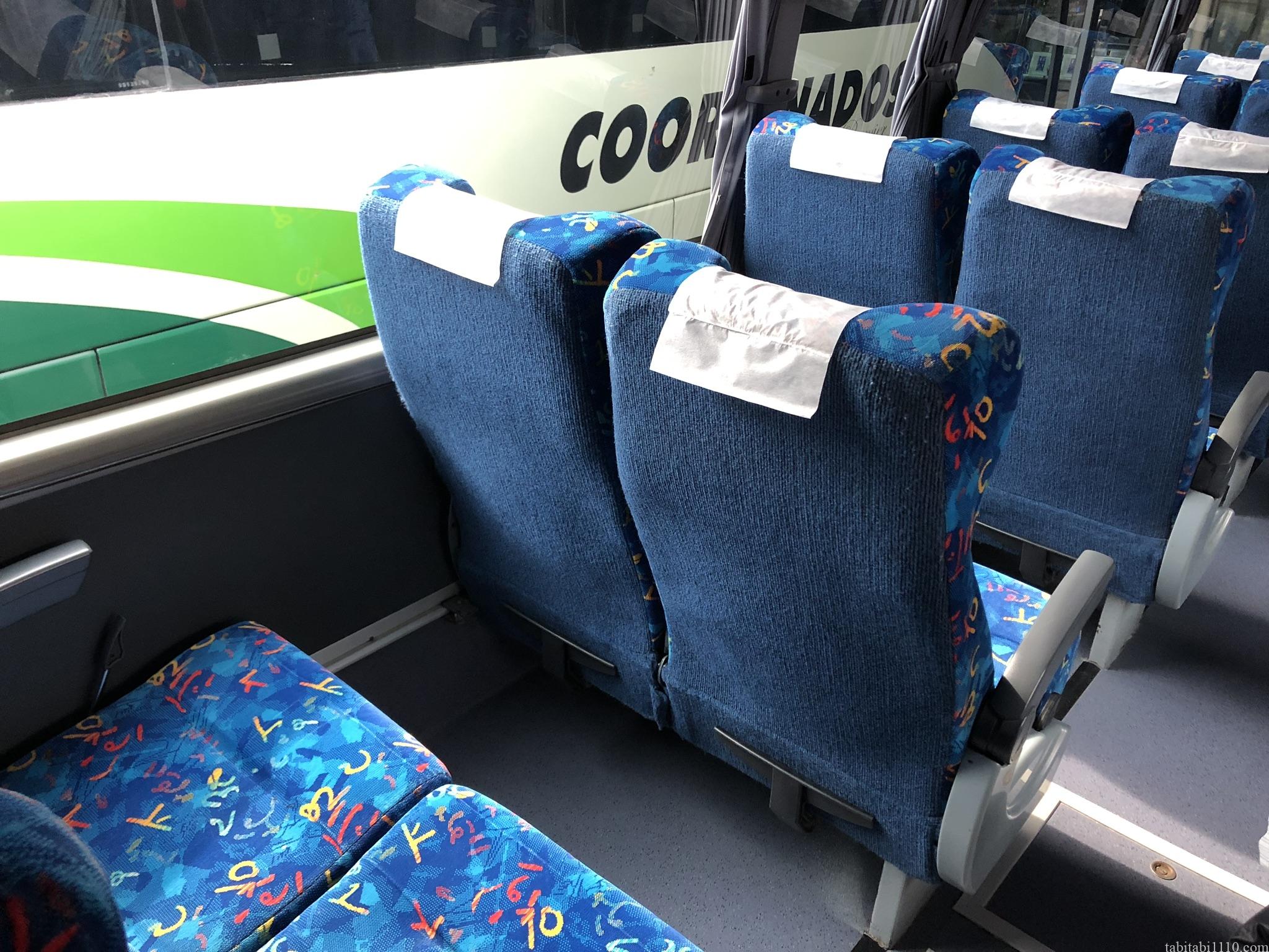 サンミゲルアジェンデ行きバス車内