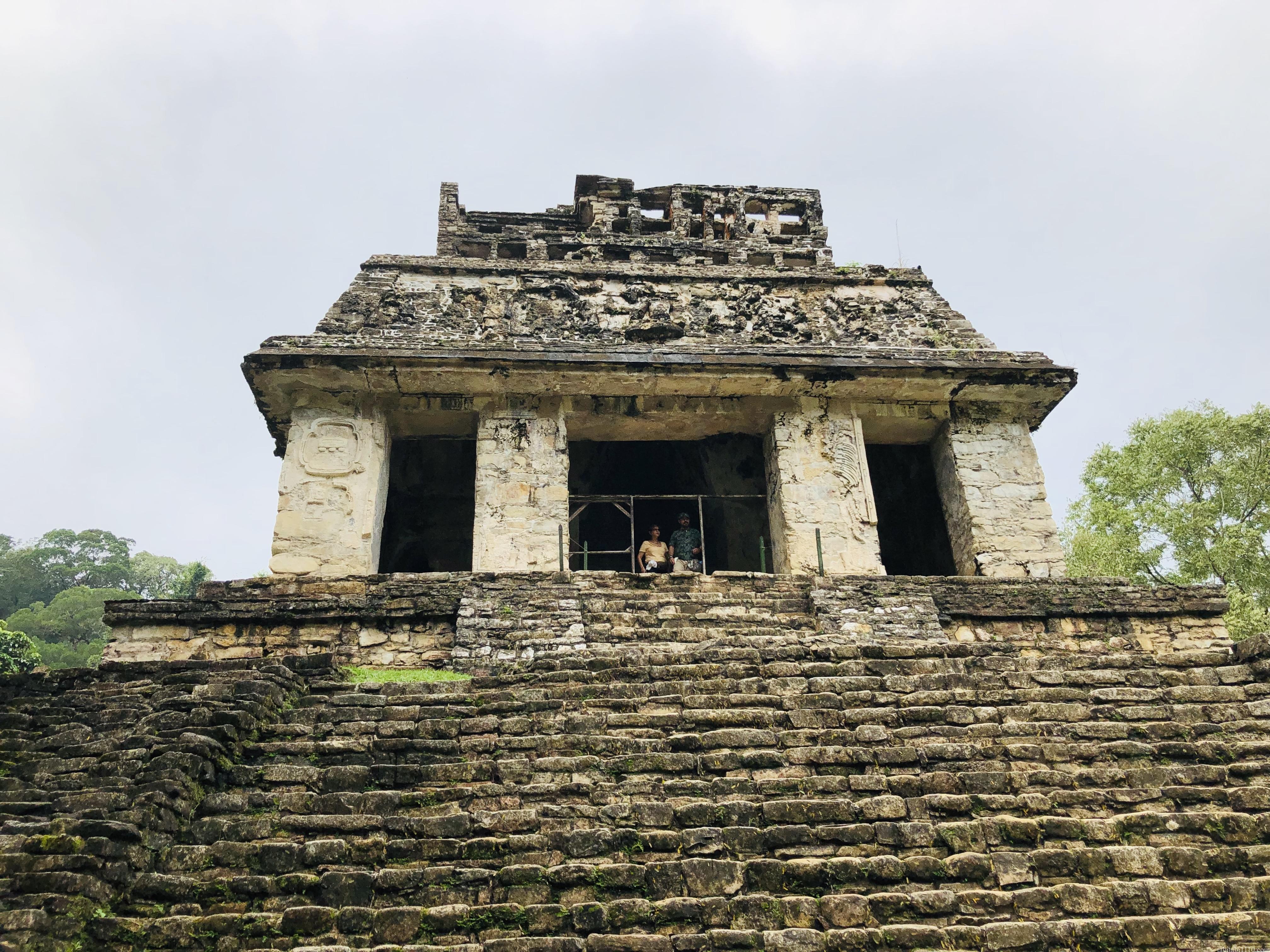 パレンケ遺跡|太陽の神殿