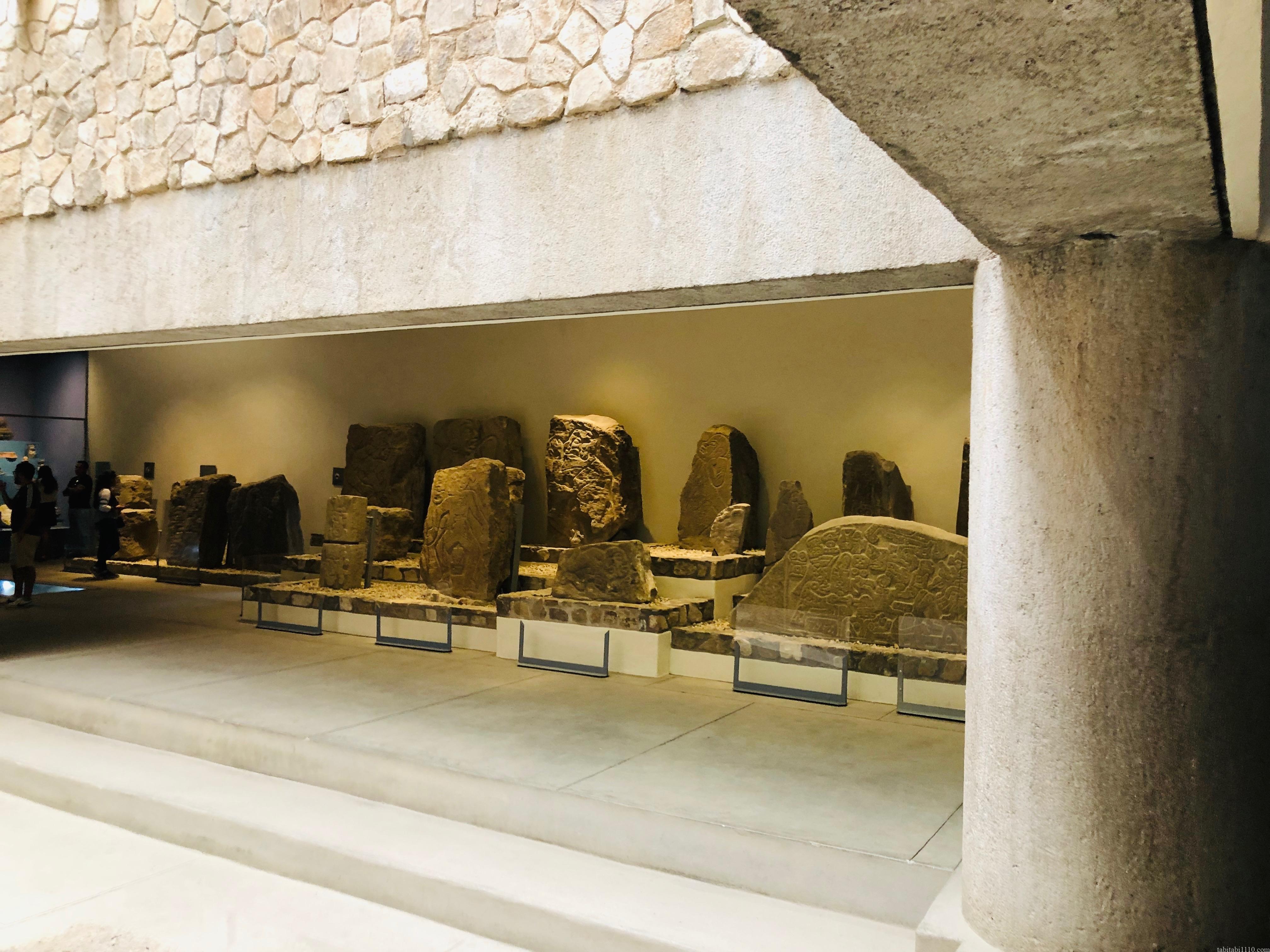 モンテアルバン 博物館