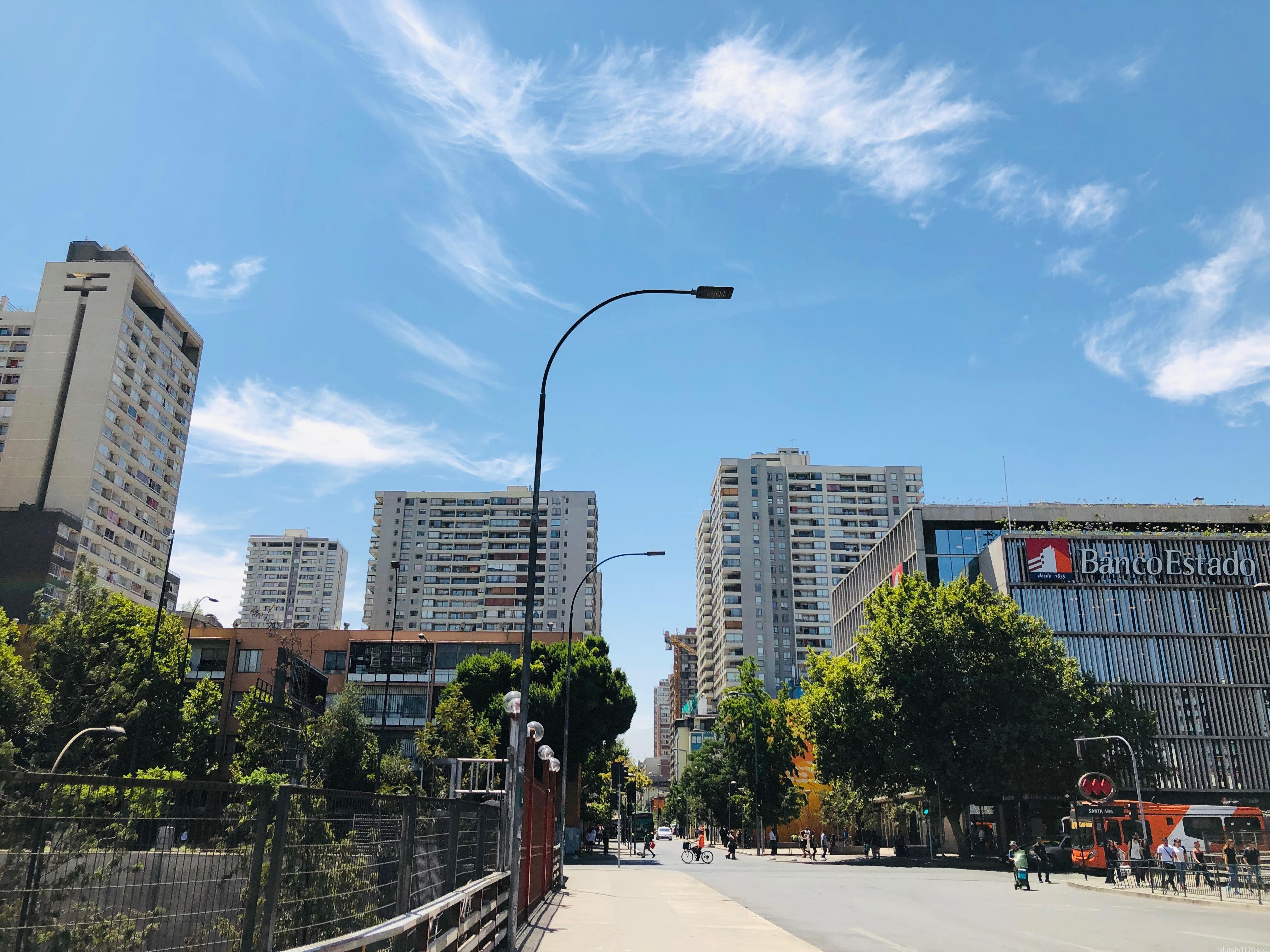 サンティアゴ観光 街歩き