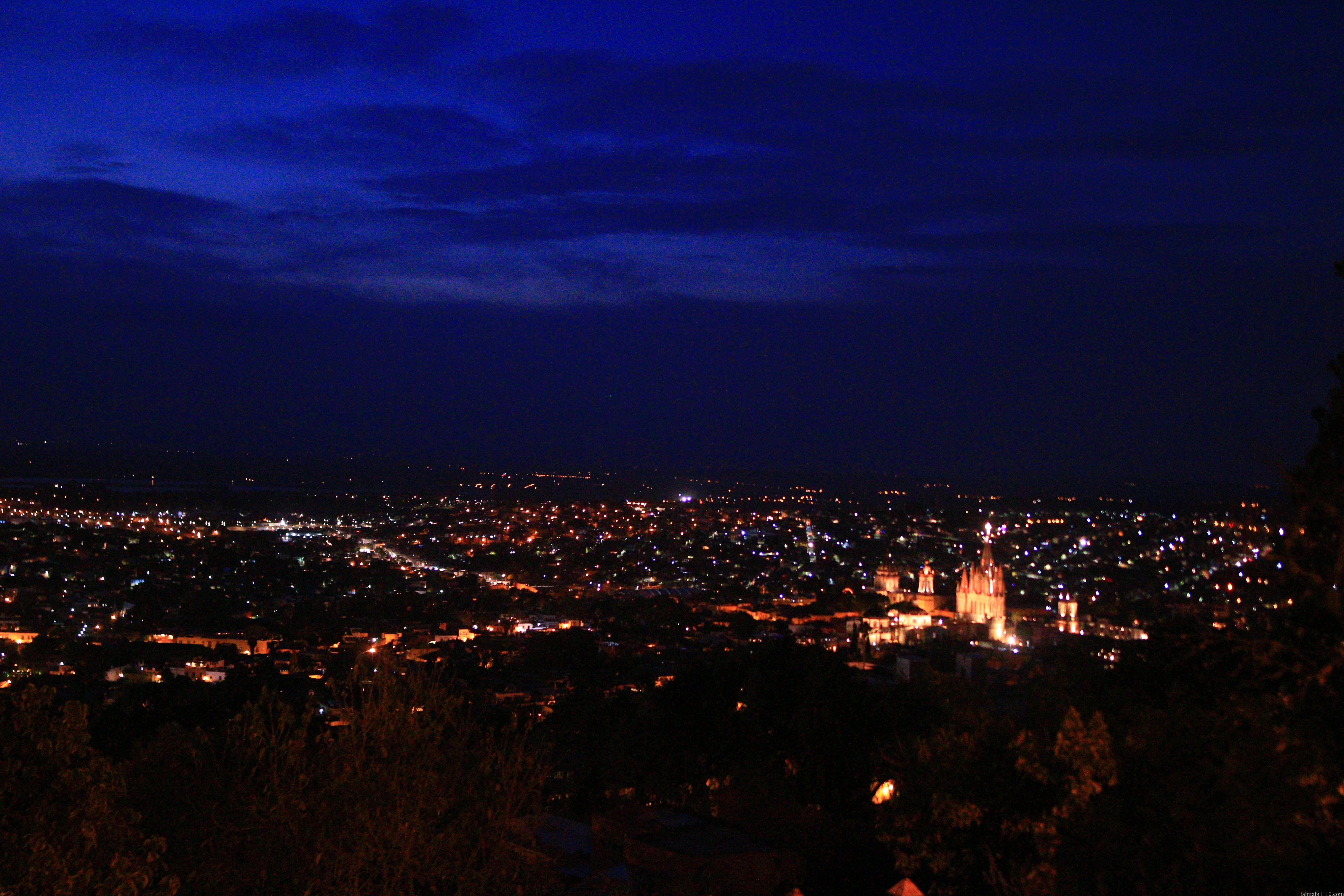 サンミゲルアジェンデ|夜景