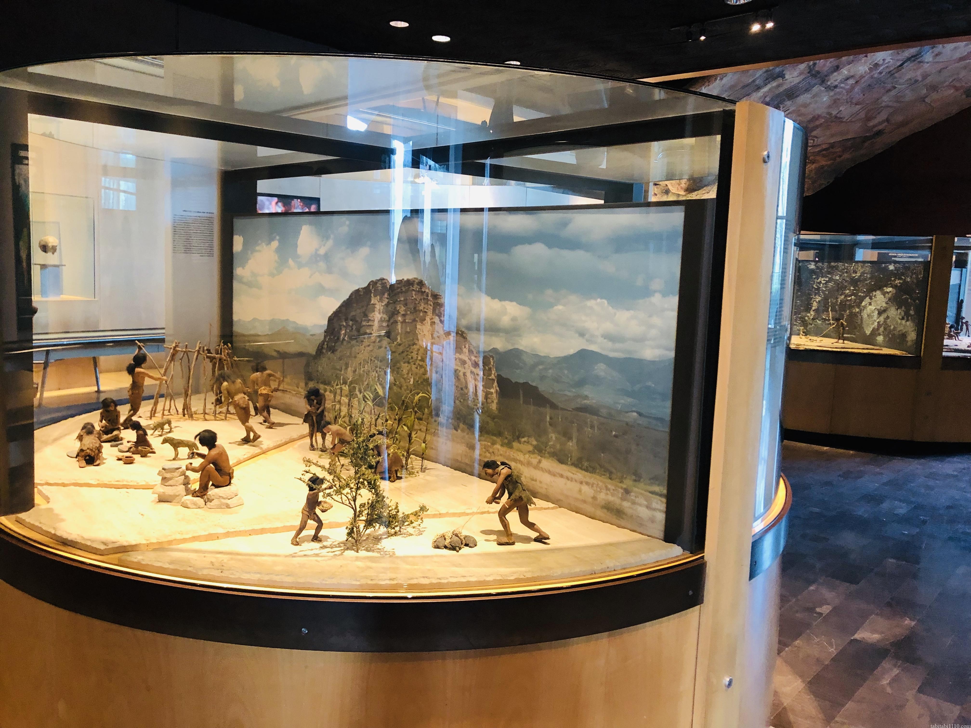 国立人類学博物館|原始の生活