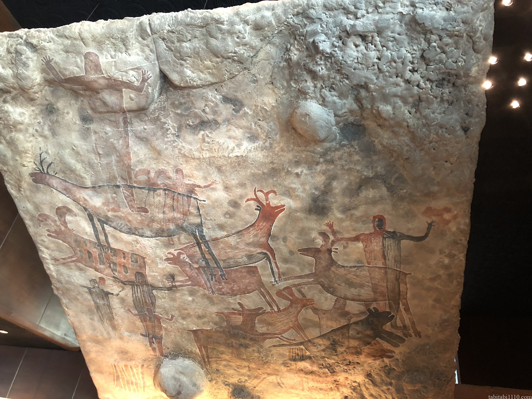 国立人類学博物館|原始の壁画